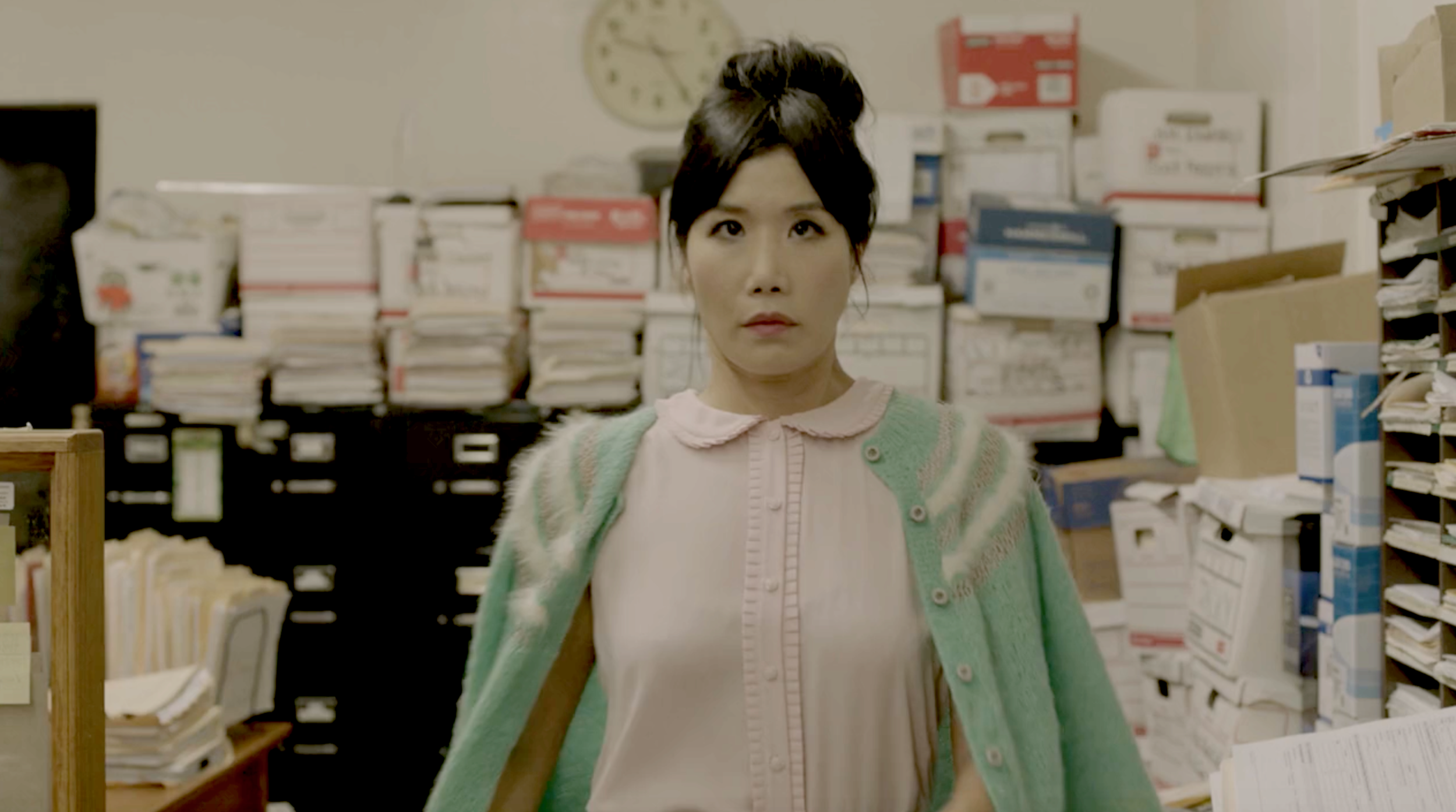 vivian bang as office girl -