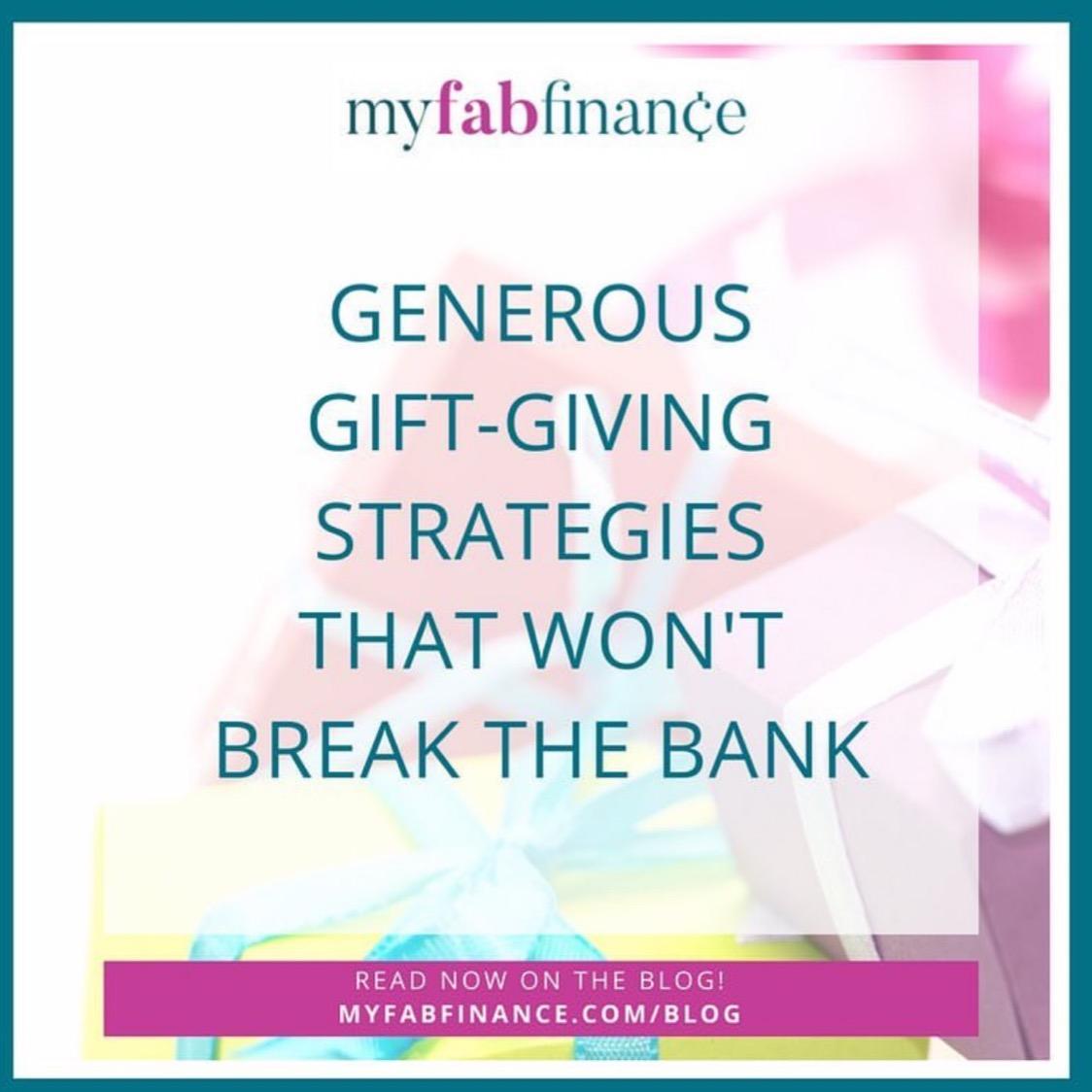 10 Generous Gift-Giving Strategies That Won't Break The Bank