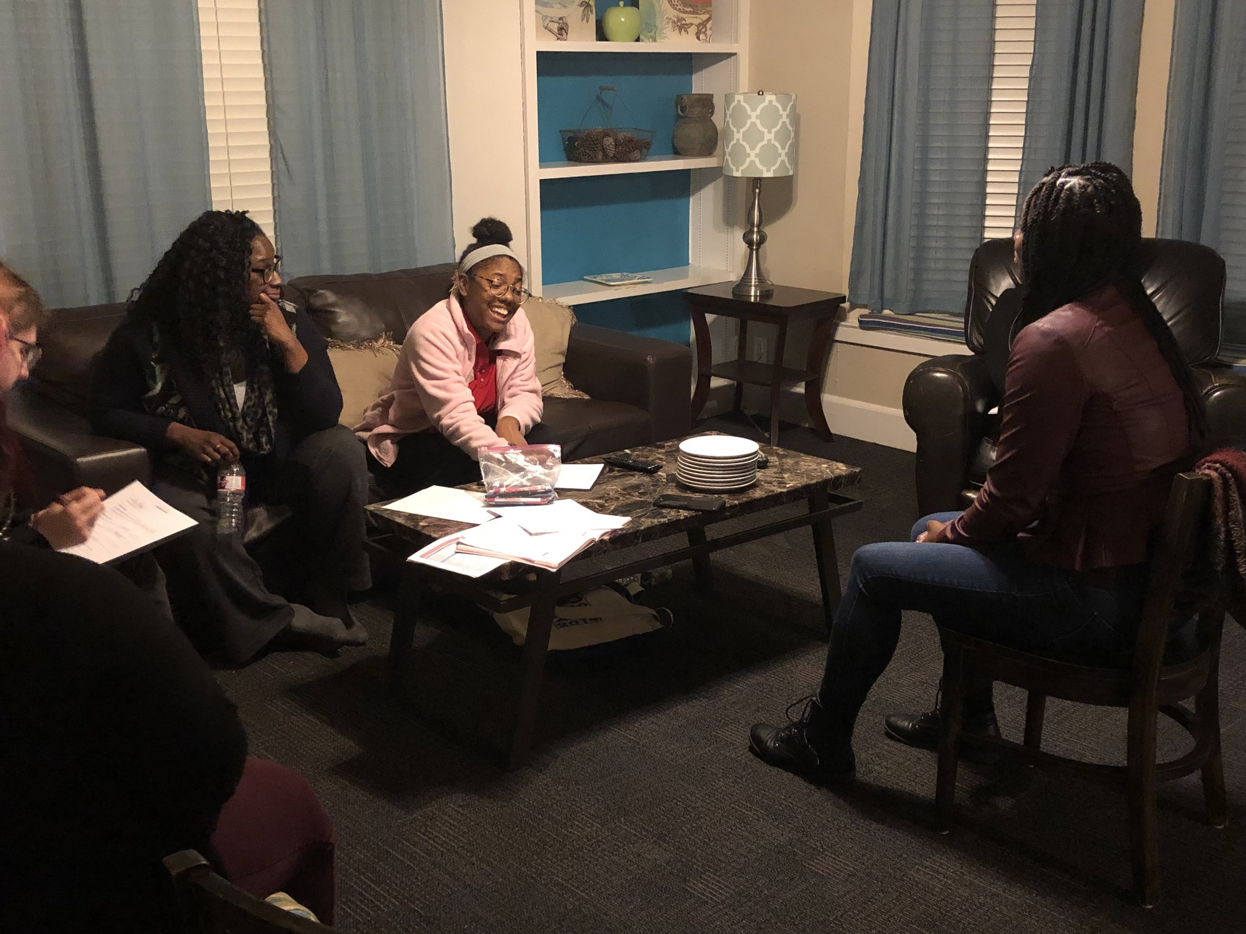 Date: Thursday February 28, 2019 and Thursday March 28, 2019  Location: Dallas, TX  Cleo discussed Financial Planning with  Our Friend's Place  resident's at Beasley House during their monthly skills night. We also discussed the importance of being aware of your spending habits.