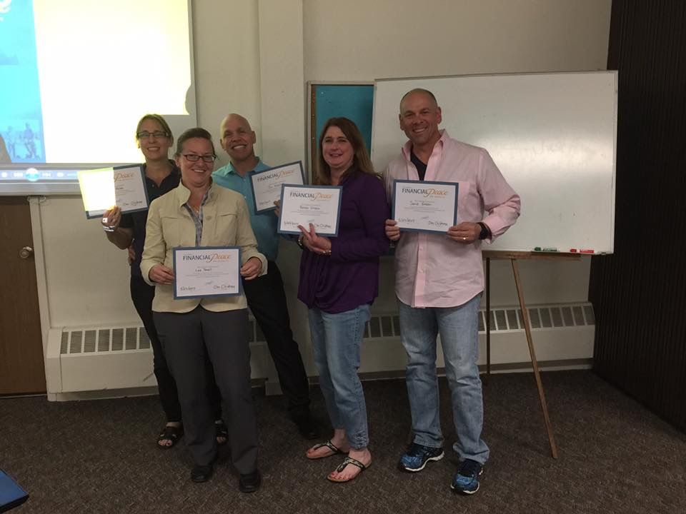 Financial Peace University  9 Week Program  May 2017 Graduation Class  Cleo coordinated this group in Denver, CO