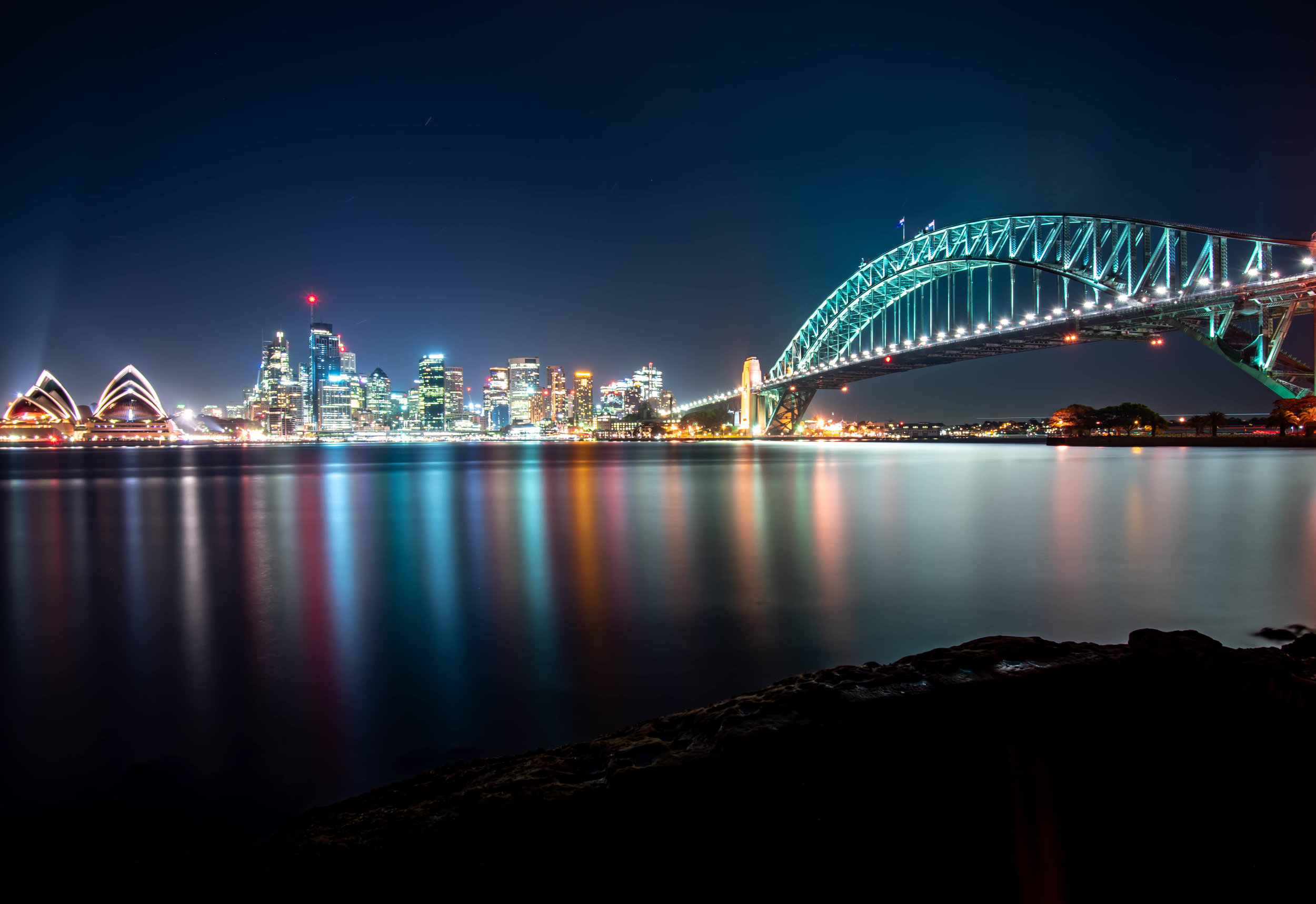 Sydney Harbour by night  Sydney | 2018