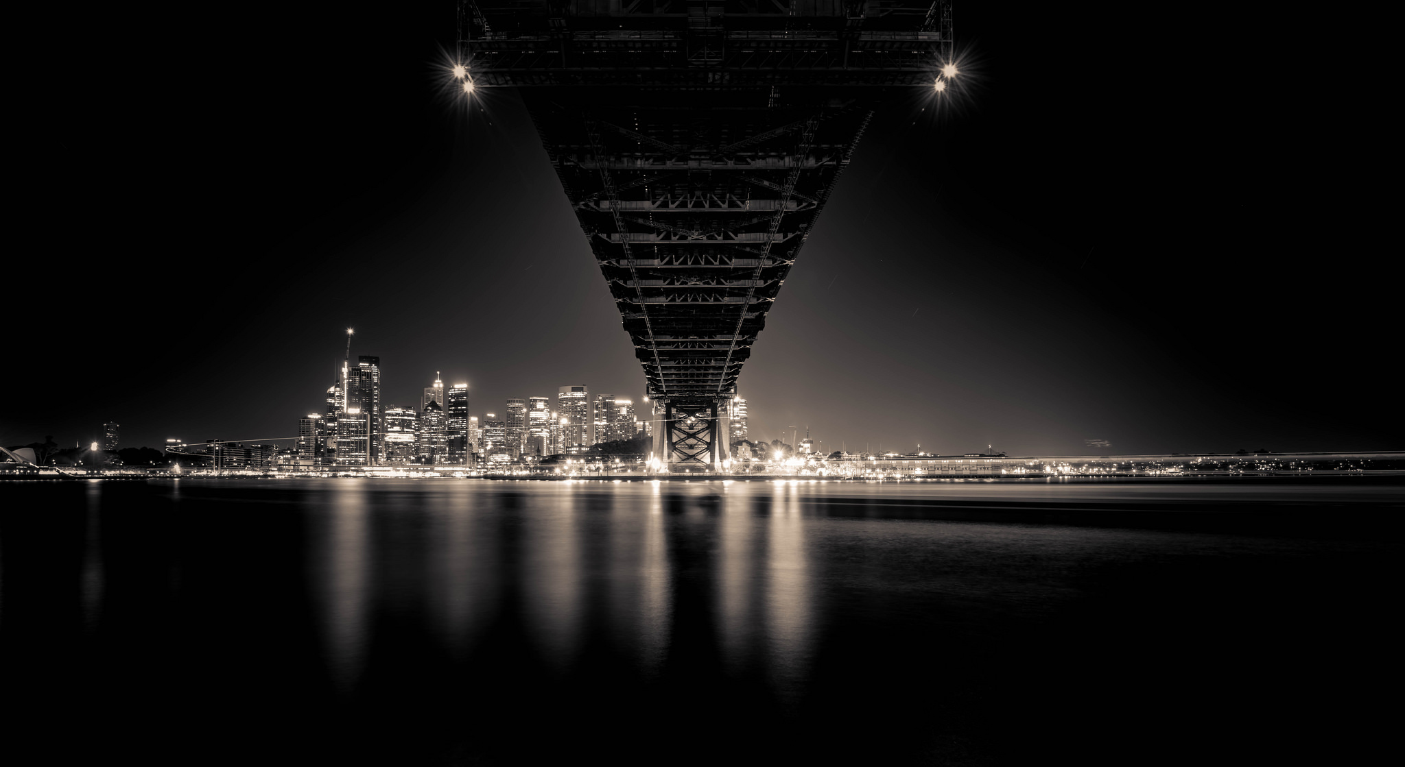 Under the bridge  Sydney Harbour Bridge, Sydney | 2018