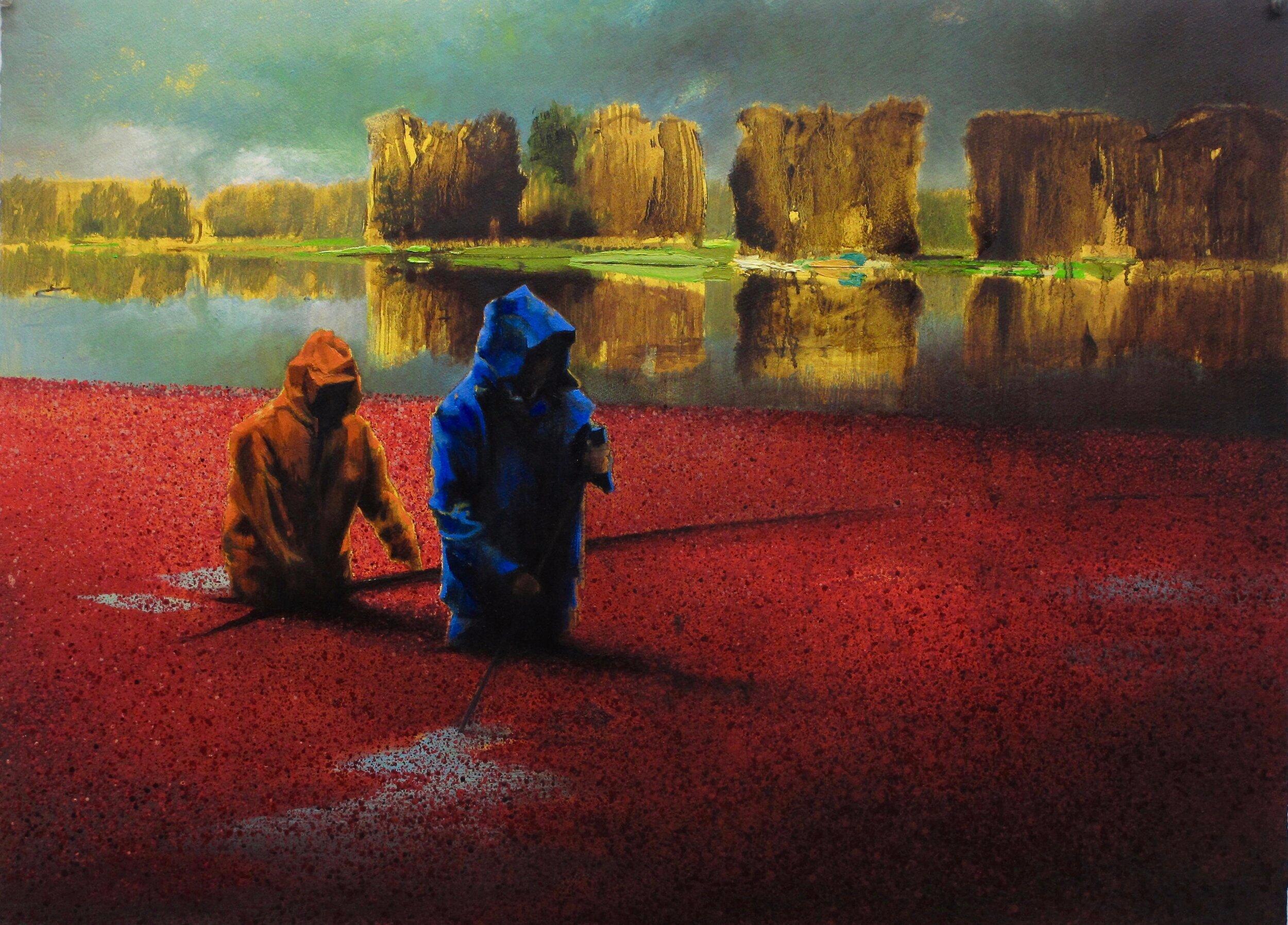 Bog/Orange Blue (1926)