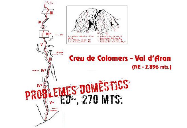 Creu de Colomèrs - Problemes domèstics