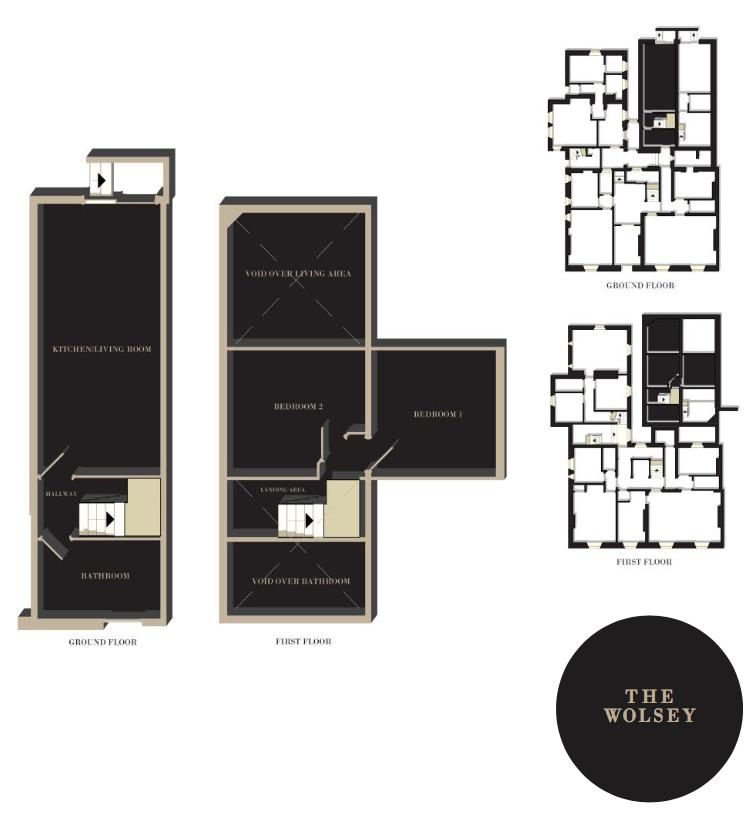 The Wolsey floorplan