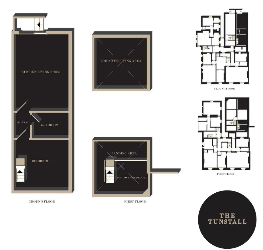 The Tunstall floor plan