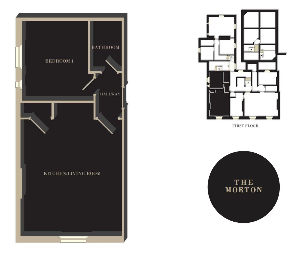 The Morton floor plan