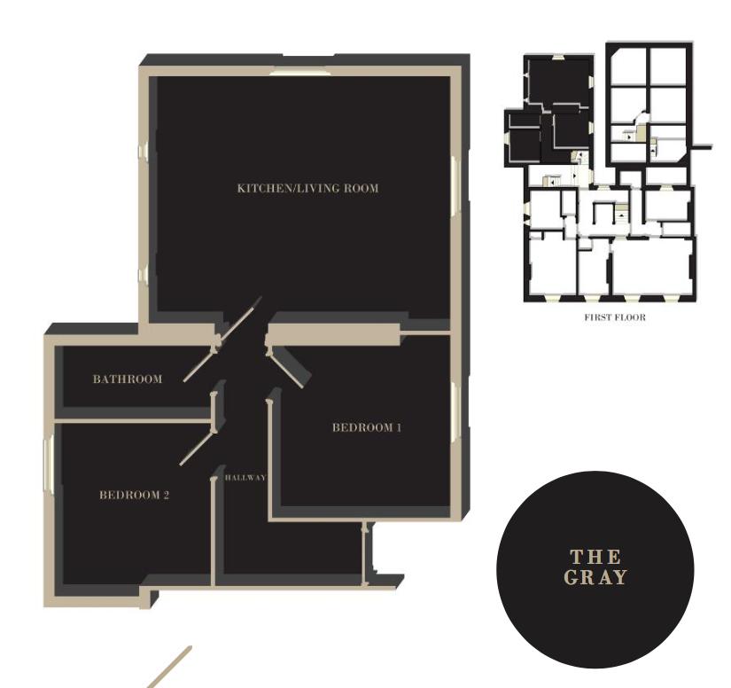 The Gray floor plan