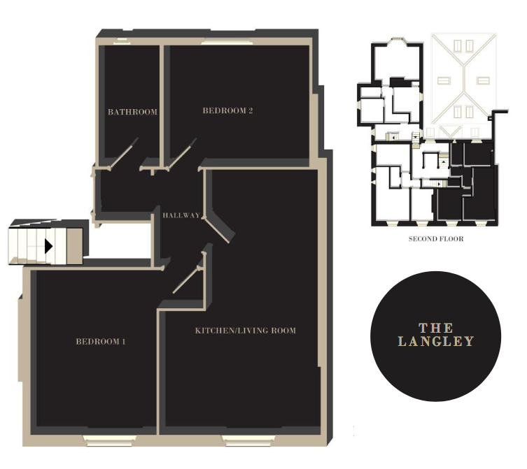 The Langley floor plan