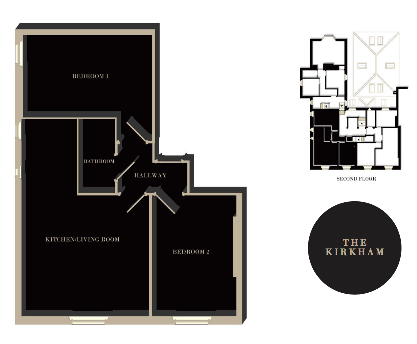The Kirkham floor plan