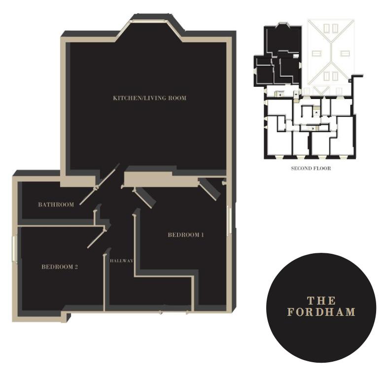 The Fordham floor plan