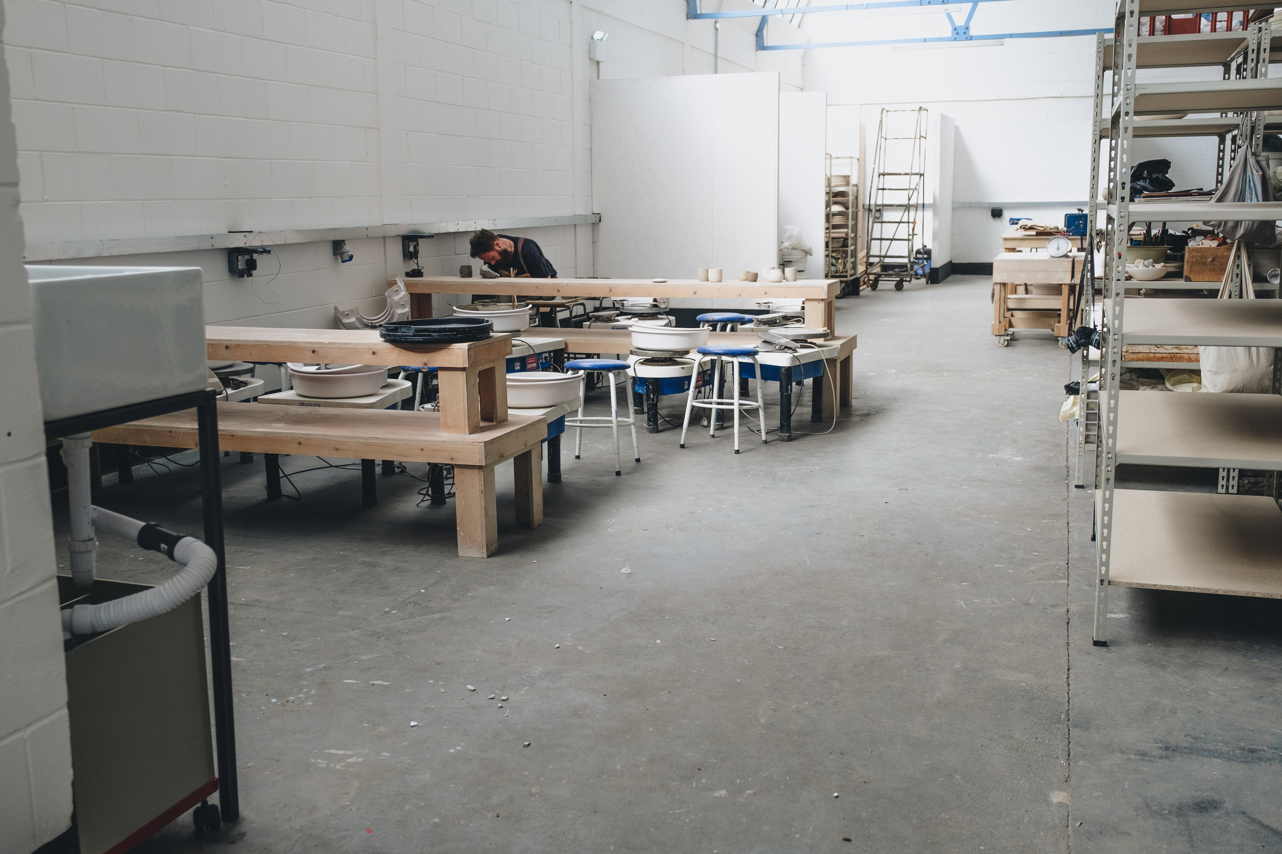 In Production Ceramics Studios in East London