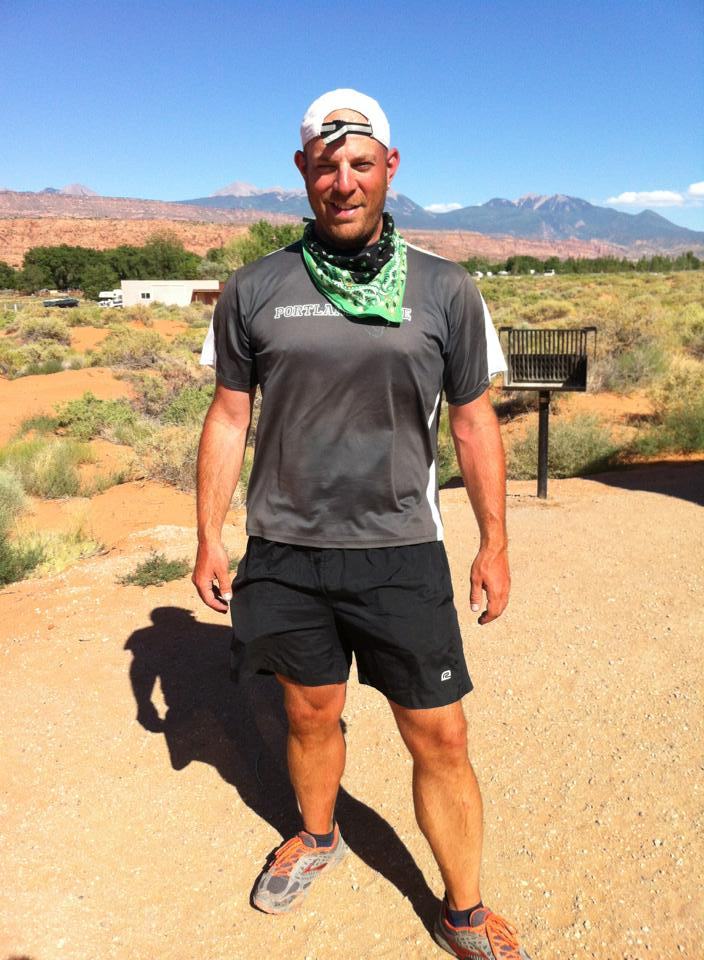 After running 100 mile stage race in Moab, utah