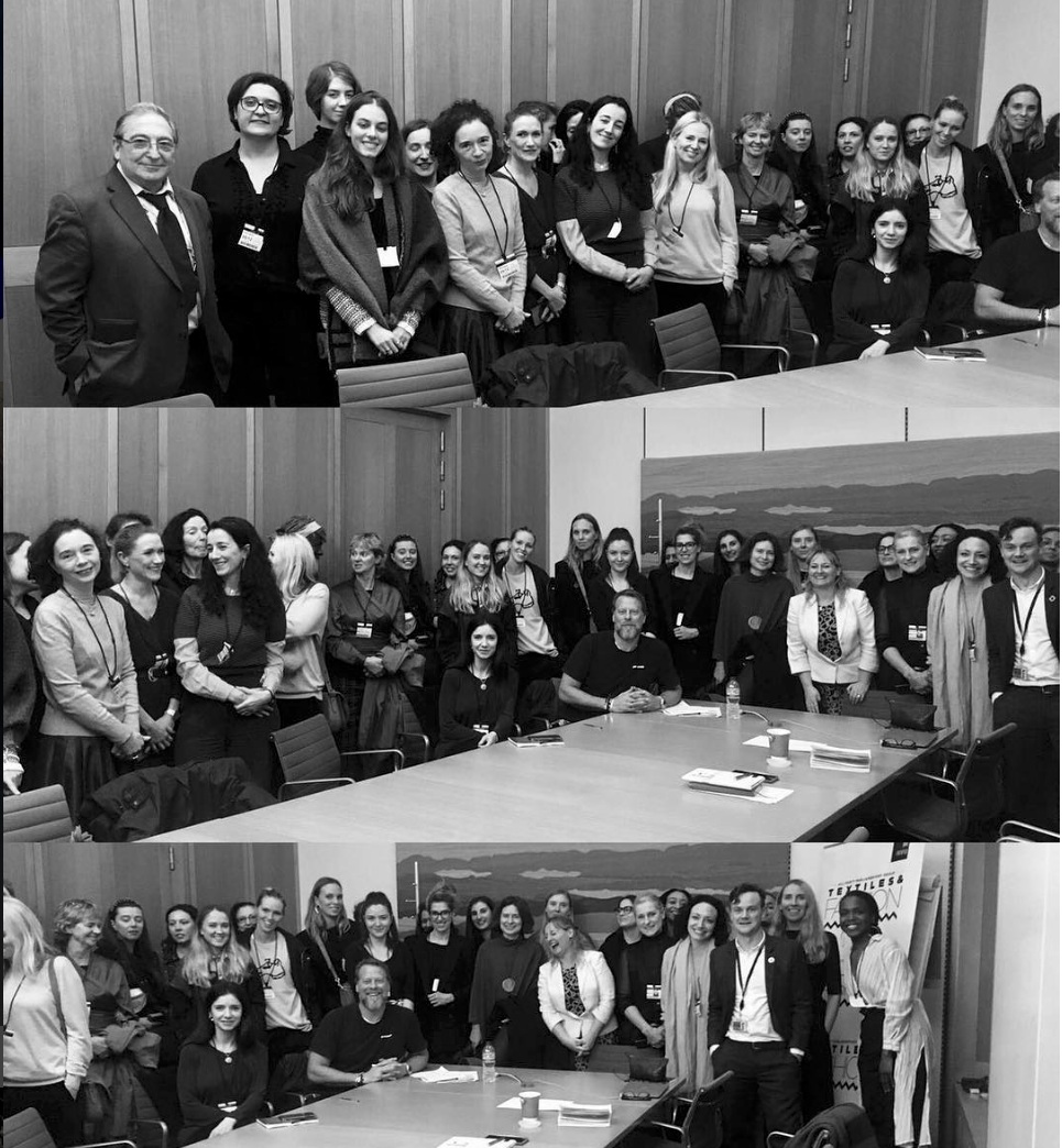 APPG FOR TEXTILES AND FASHION: FASHION AND SUSTAINABILITY ROUNDTABLE - DECEMBER 2018