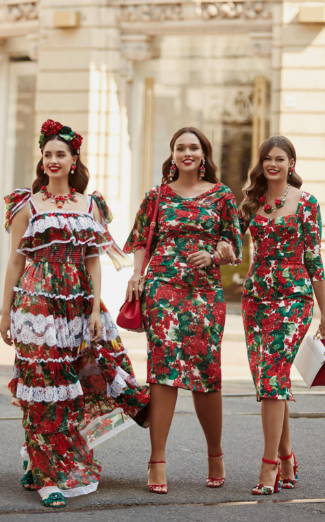 Dolce and Gabbana's Pre-Fall 2019 collection CREDIT: COURTESY OF DOLCE AND GABBANA