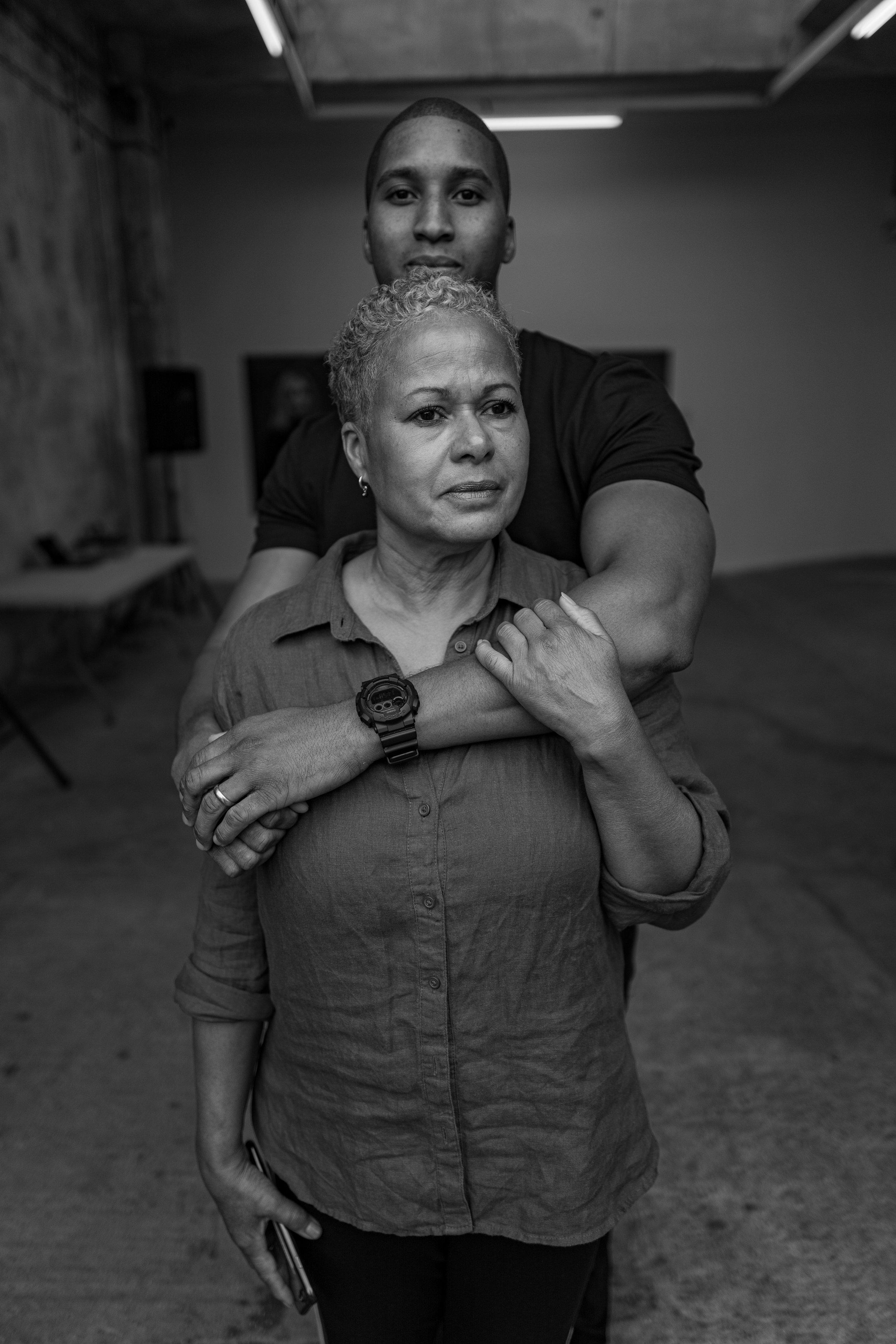 Tenee Attoh and her son Solon (image via photographer Misan Harriman)