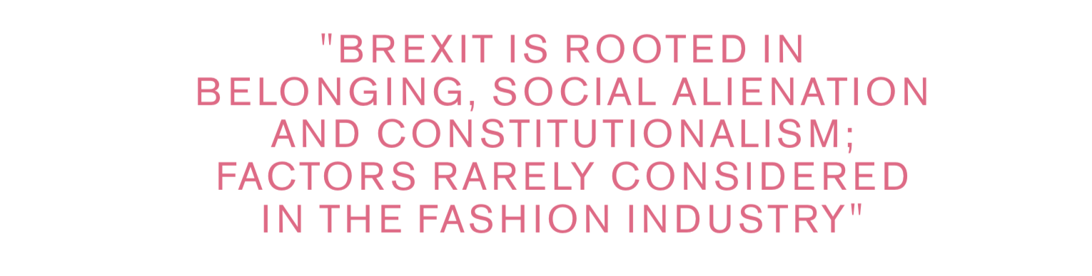 Fashion Roundtable's Brexit and the Impact on the Fashion Industry paper, 2018.