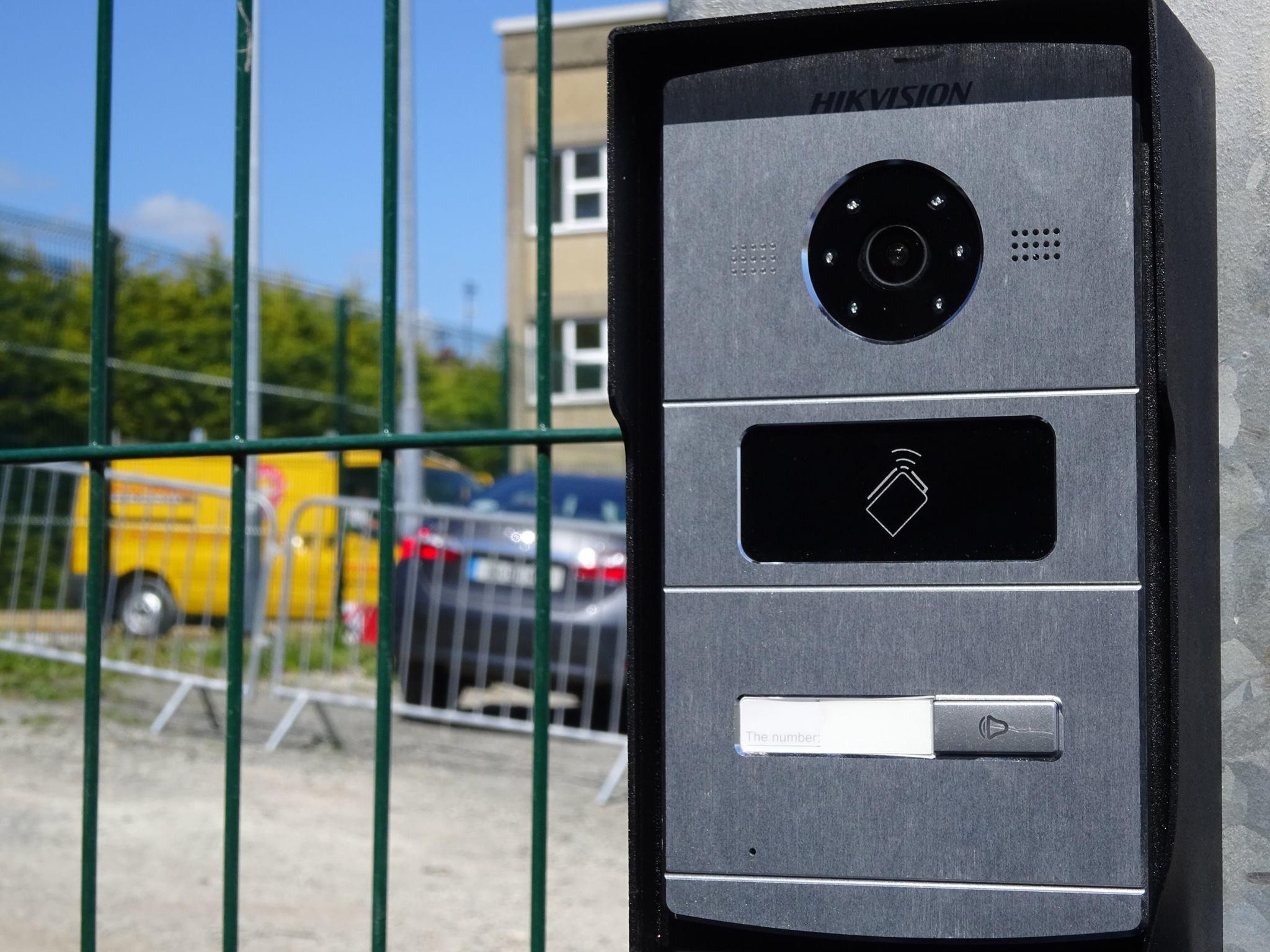 Hikvision Villa Door Station - Networked Video Intercom System