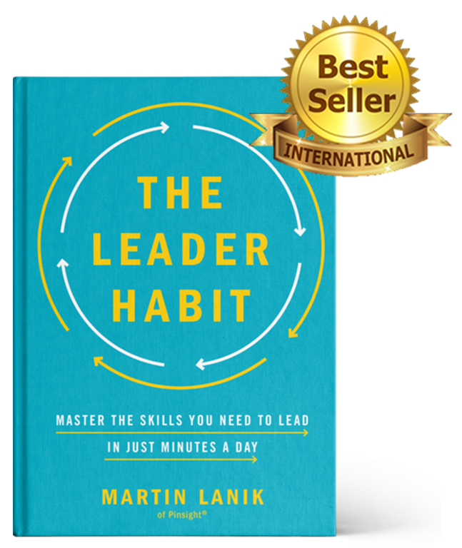 The Leader Habit book, international best seller by Martin Lanik.