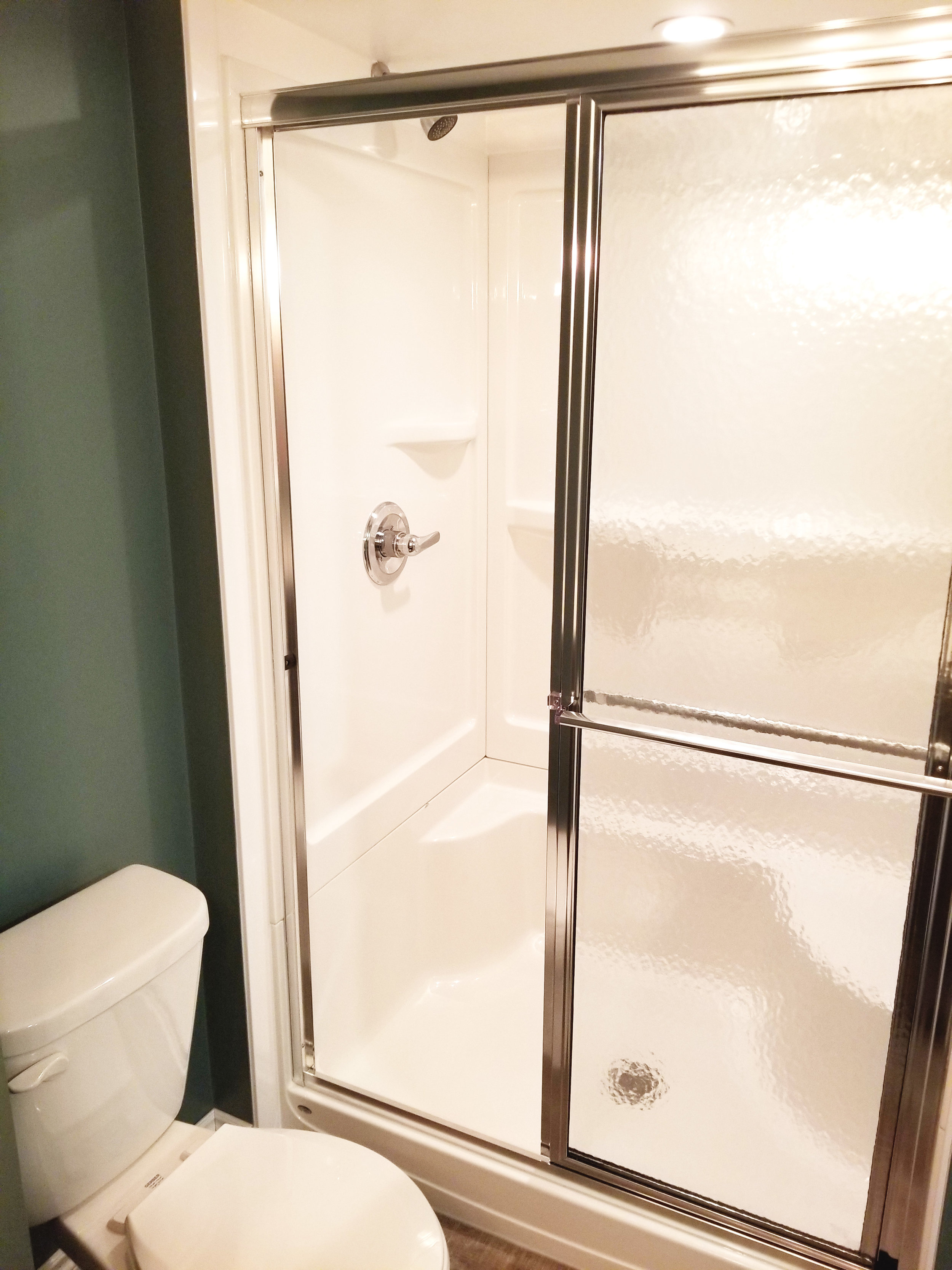New Basement Bathroom