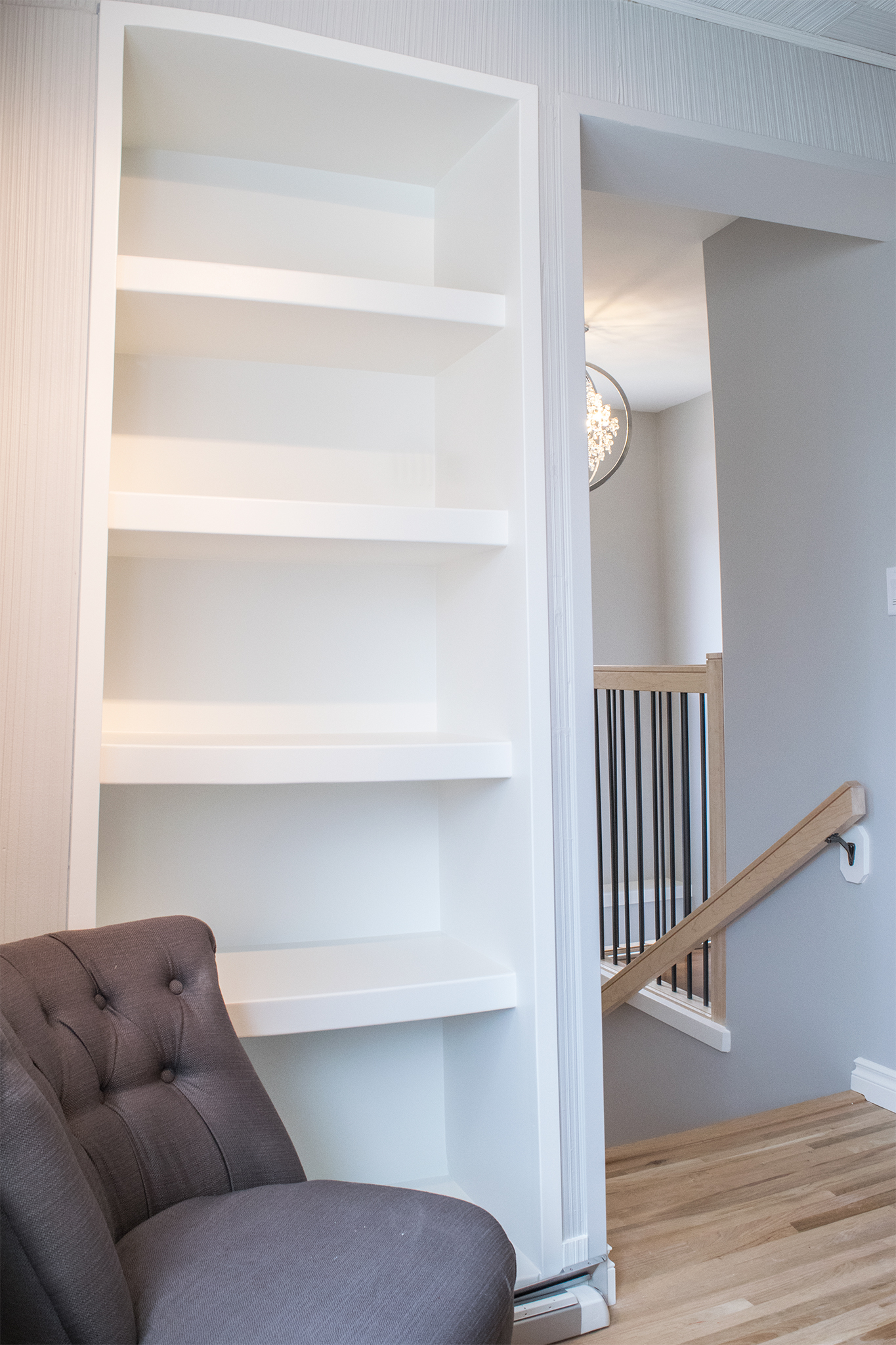 Stairwell and Trim-work