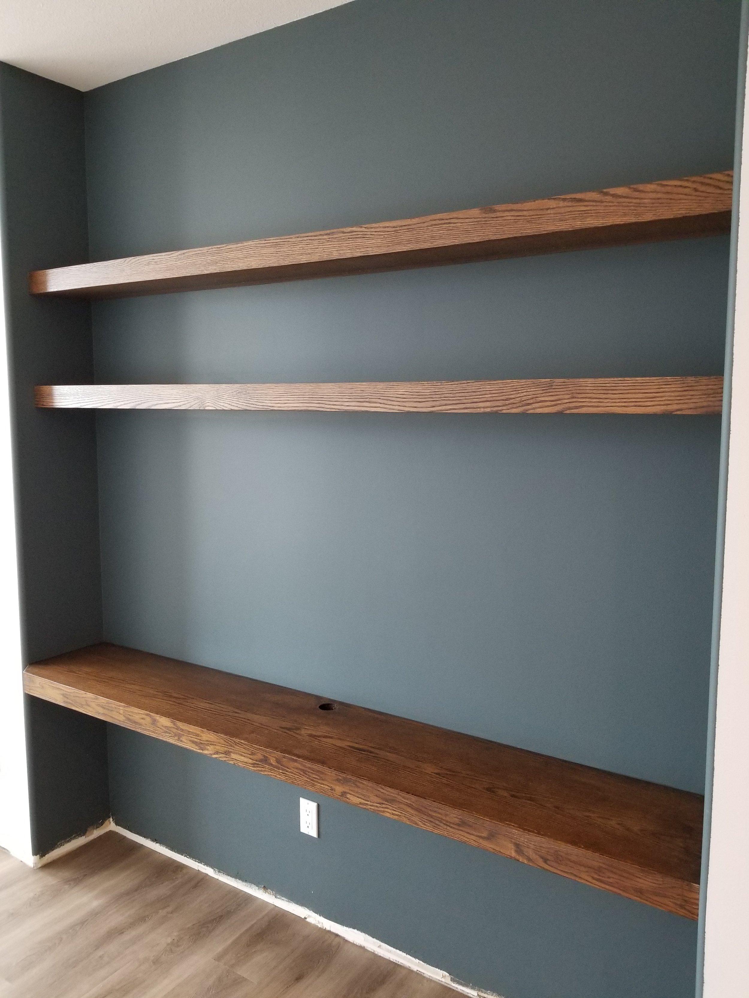 Condo Renovation - Desk and Shelves