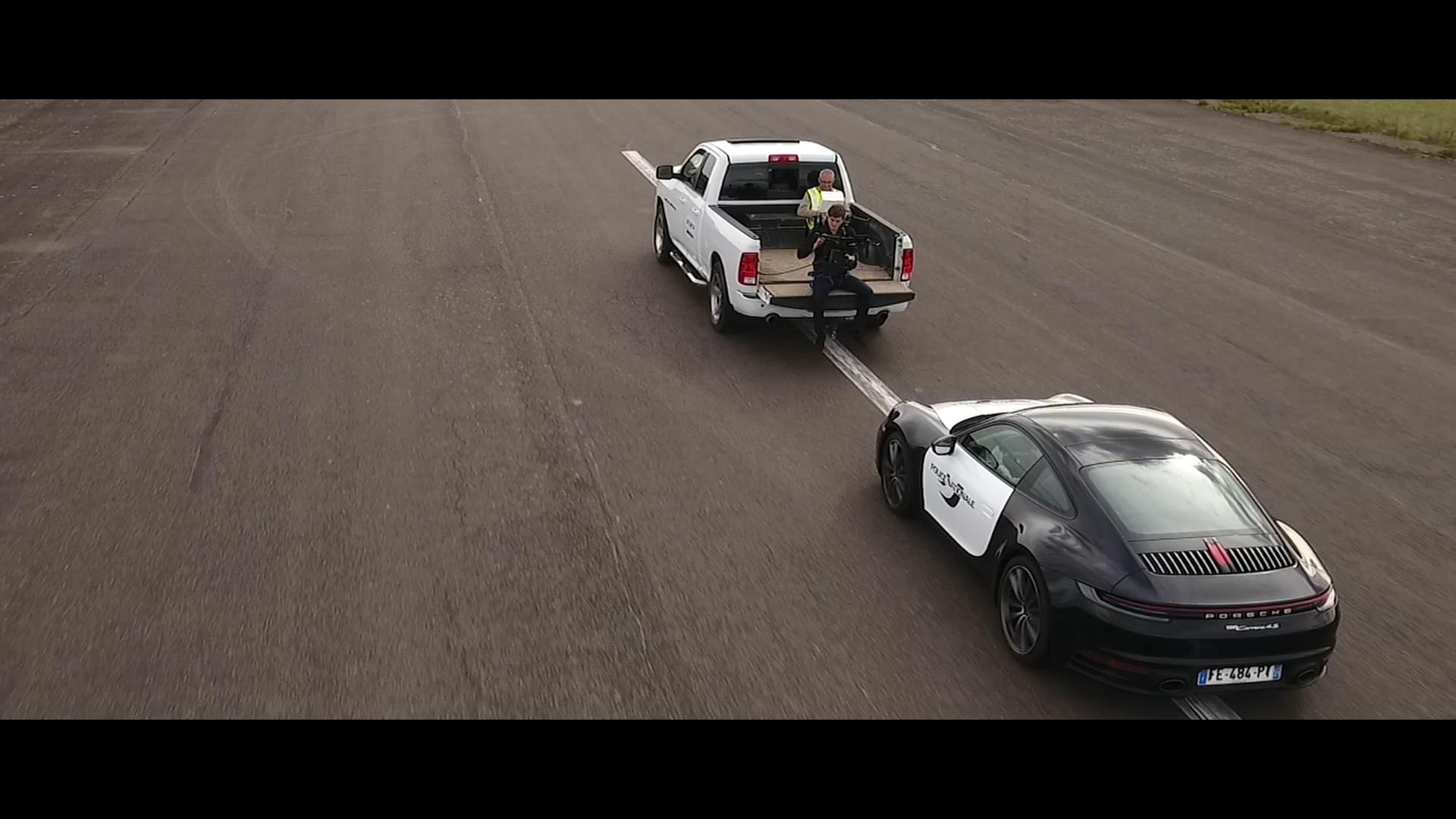 Tournage Porsche
