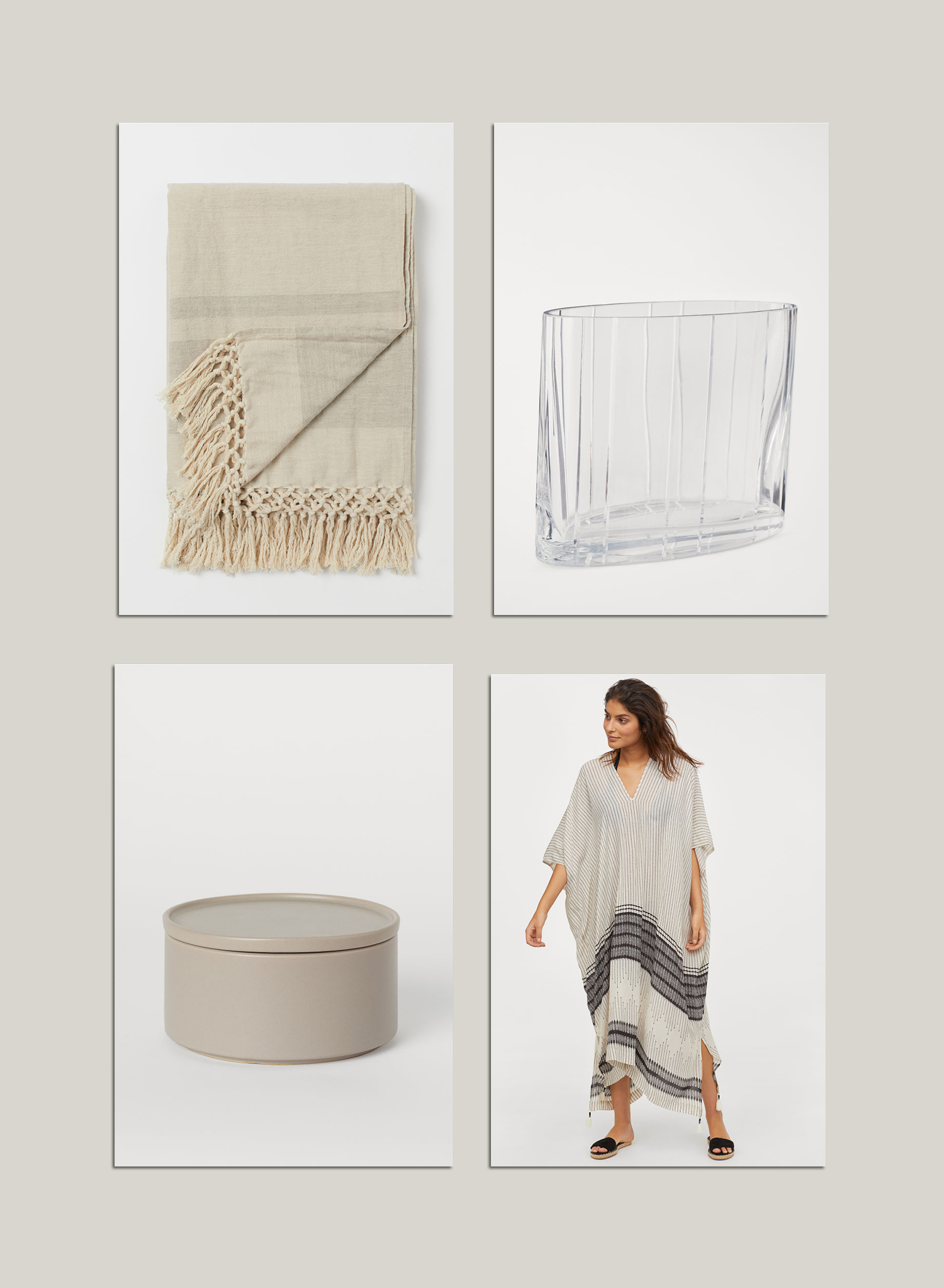 4 pieces from the new spring collection of H&M Home / via @kronekern