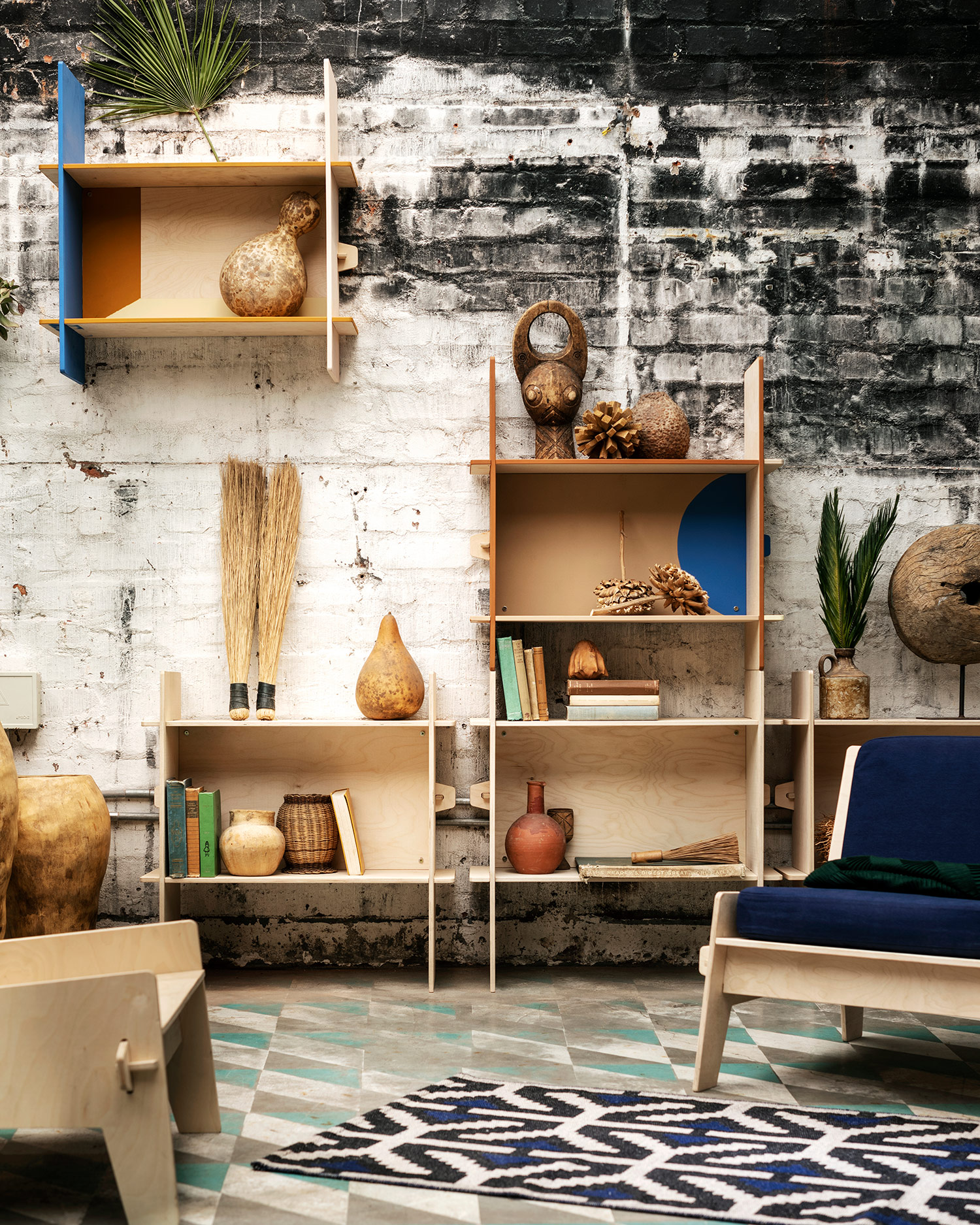 African aesthetics in Ikea's new limited edition collection via @kronekern