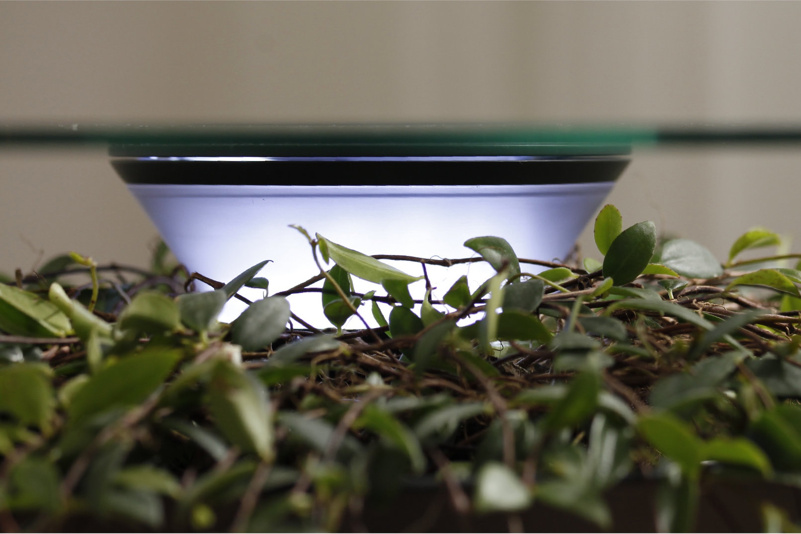 An LED strip is placed in the center of the planting area, and a built-in time switch illuminates the plant to provide proper light to live. And it can also be used as a situational light at night.