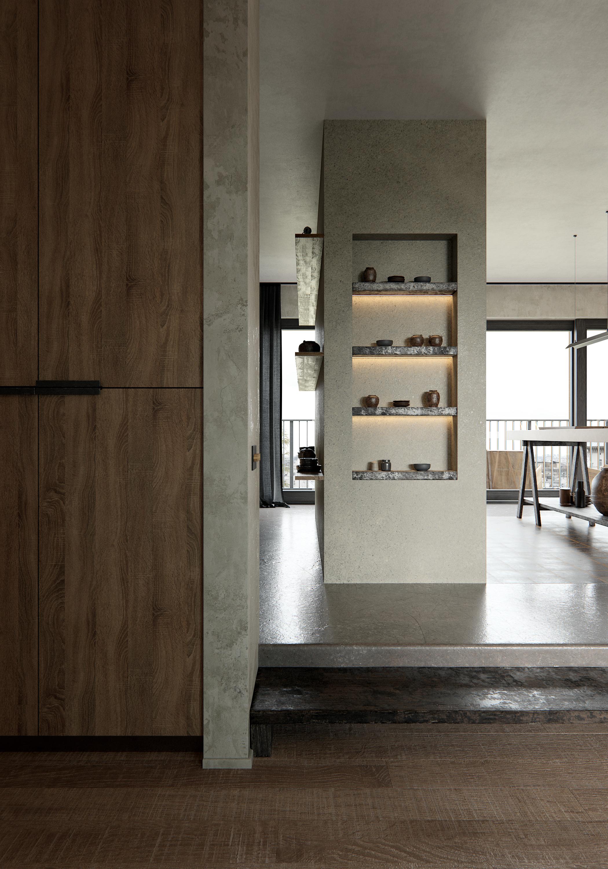Wabi-Sabi Apartment via @kronekern