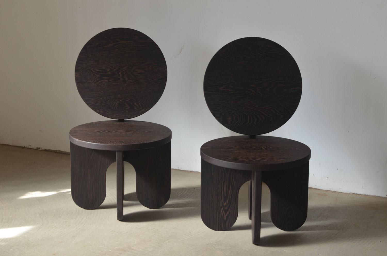 Lounge chairs by Studio Owl / via @kronekern