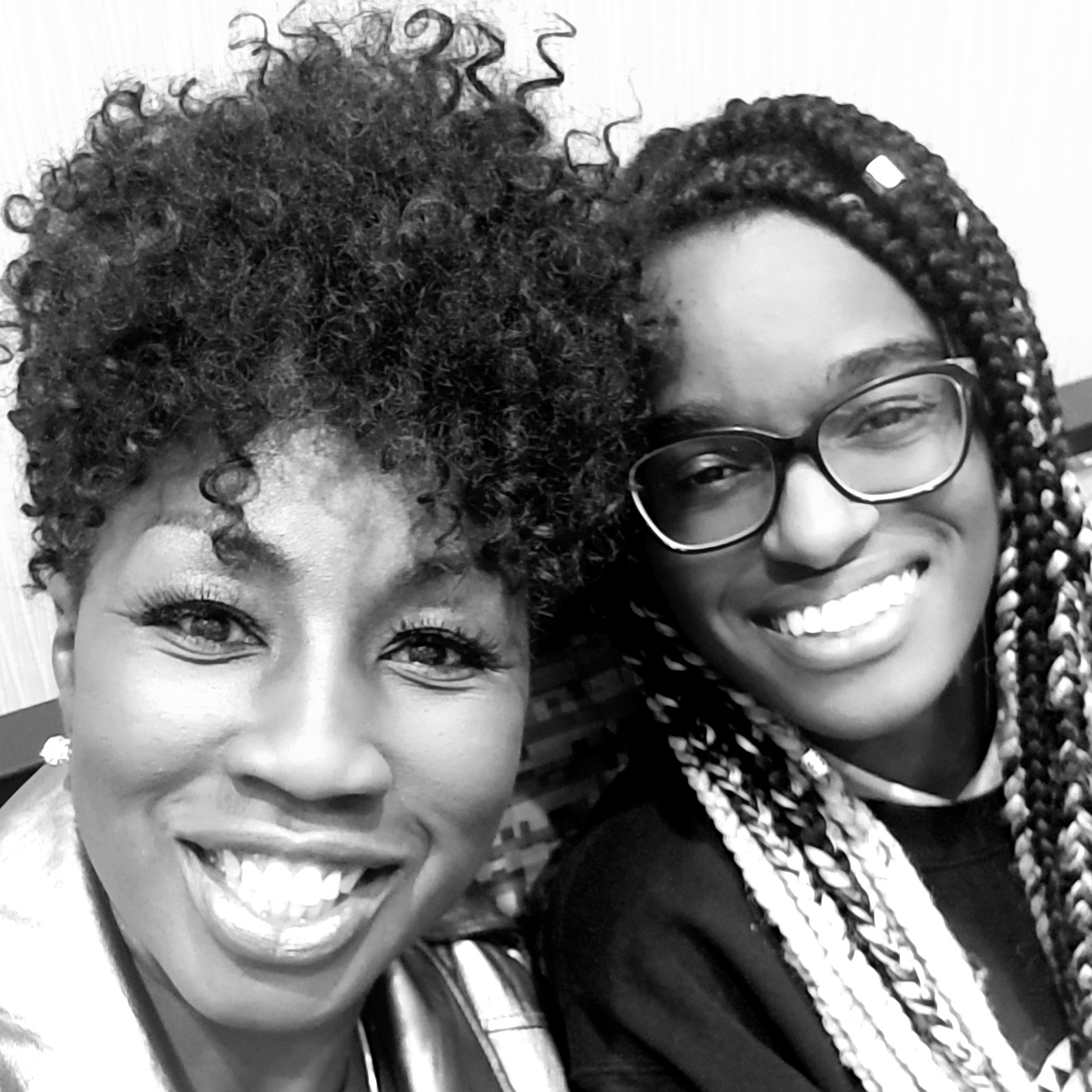 Sonja and Anna Magloire- Williams meet after working virtually for two years...