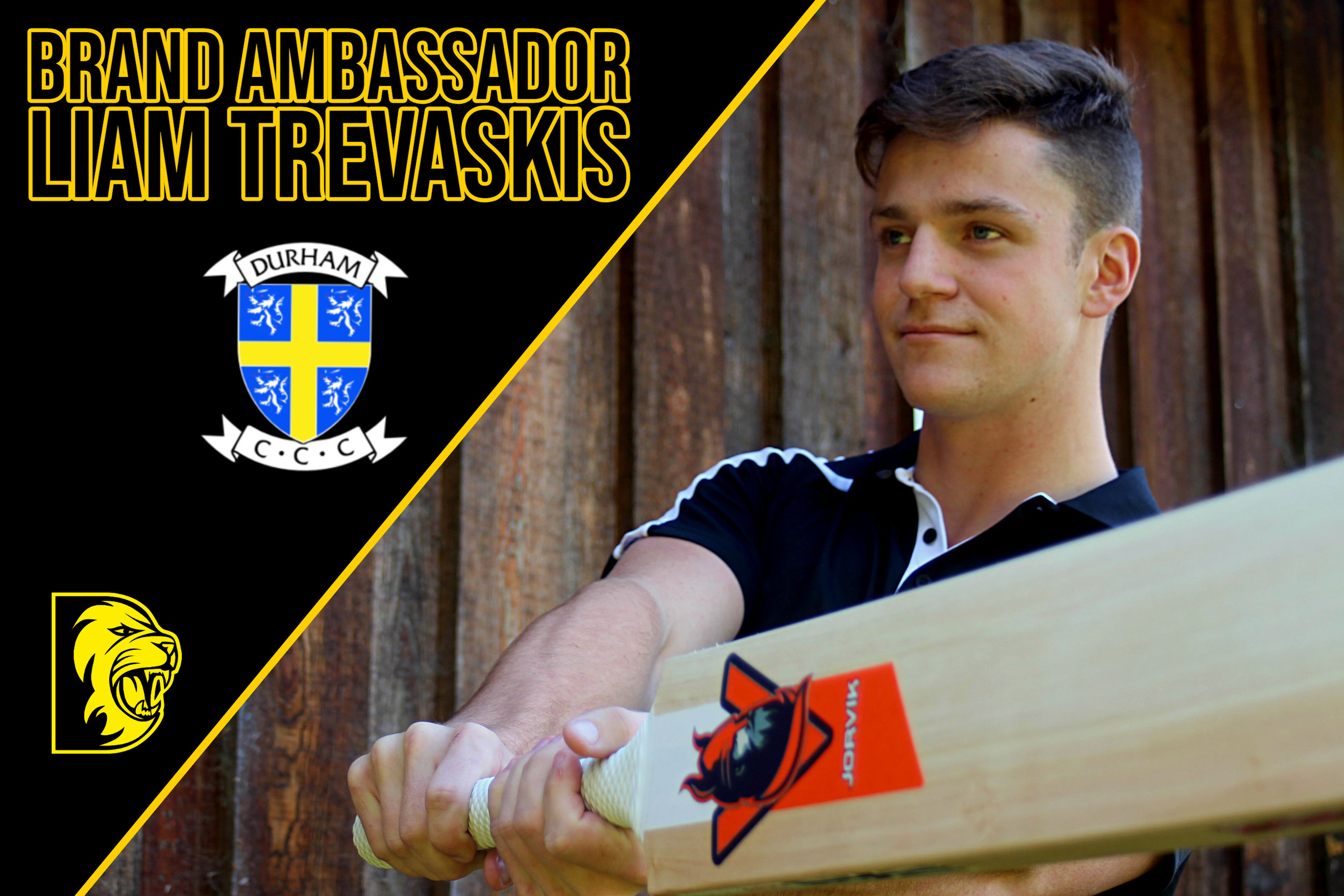 Liam Trevaskis - An English first class cricketer, a slow left arm orthodox spinner and left handed batsmen, Liam plays for Durham County Cricket Club.Liam will be using the Hel-Fyr and Thor ranges for the 2019 season.follow Liam on twitter.com/liamtrevaskis