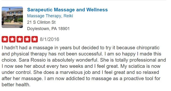 Doylestown Massage Therapist Review Yelp David W.jpg