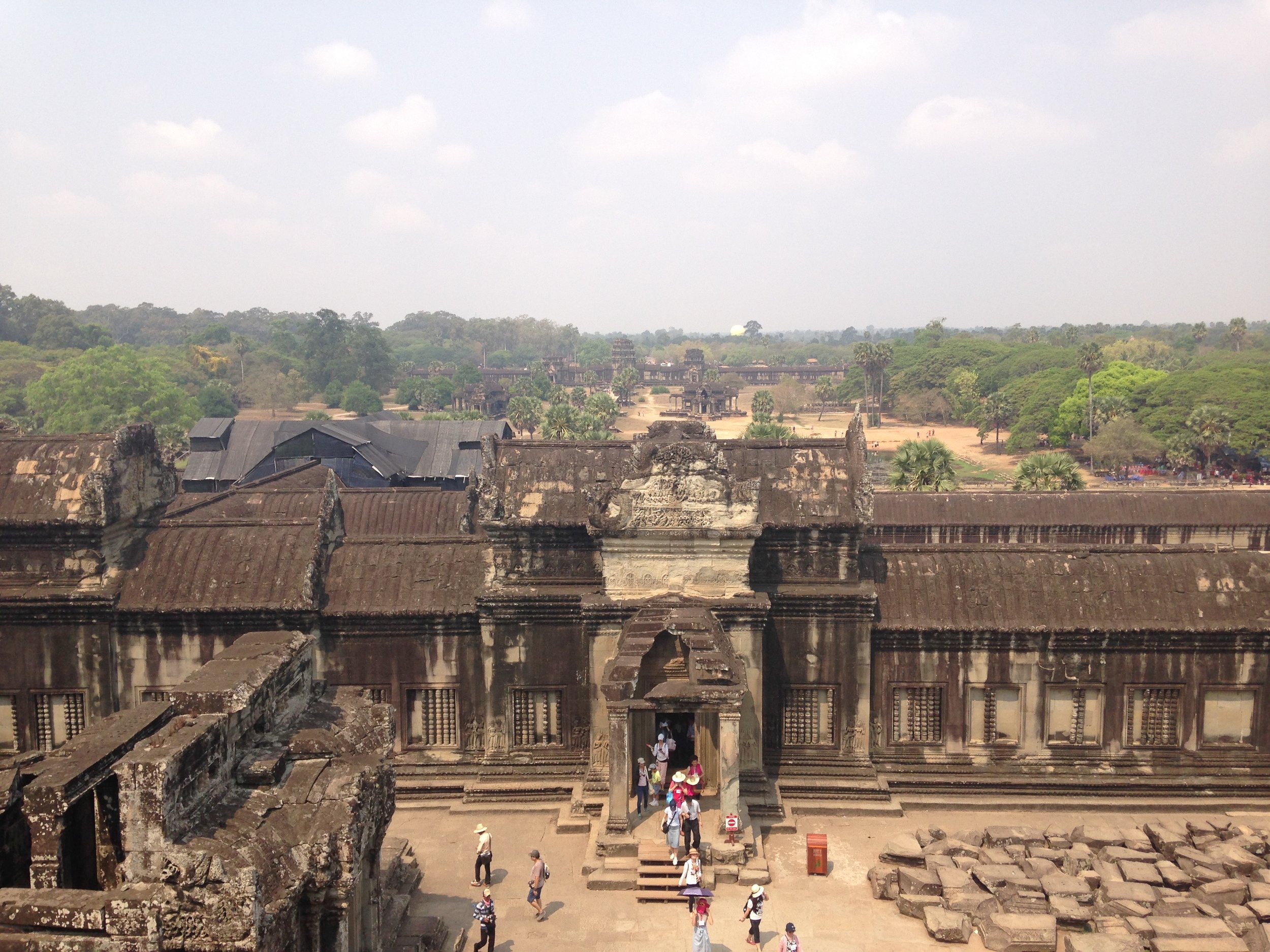 Angkor Wat. Impossible to convey the scale of it