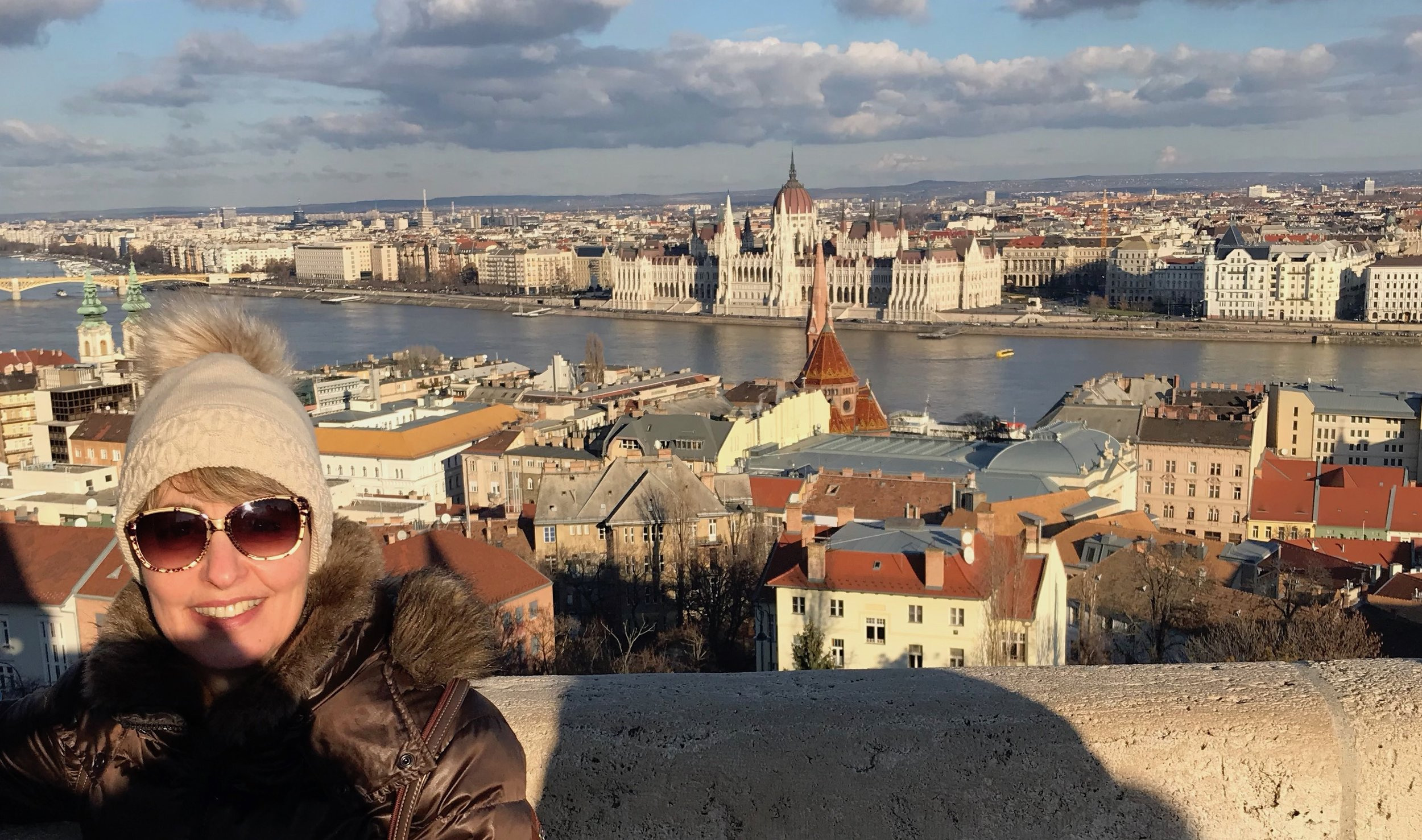Budapest from Fisherman's Bastion on Castle Hill