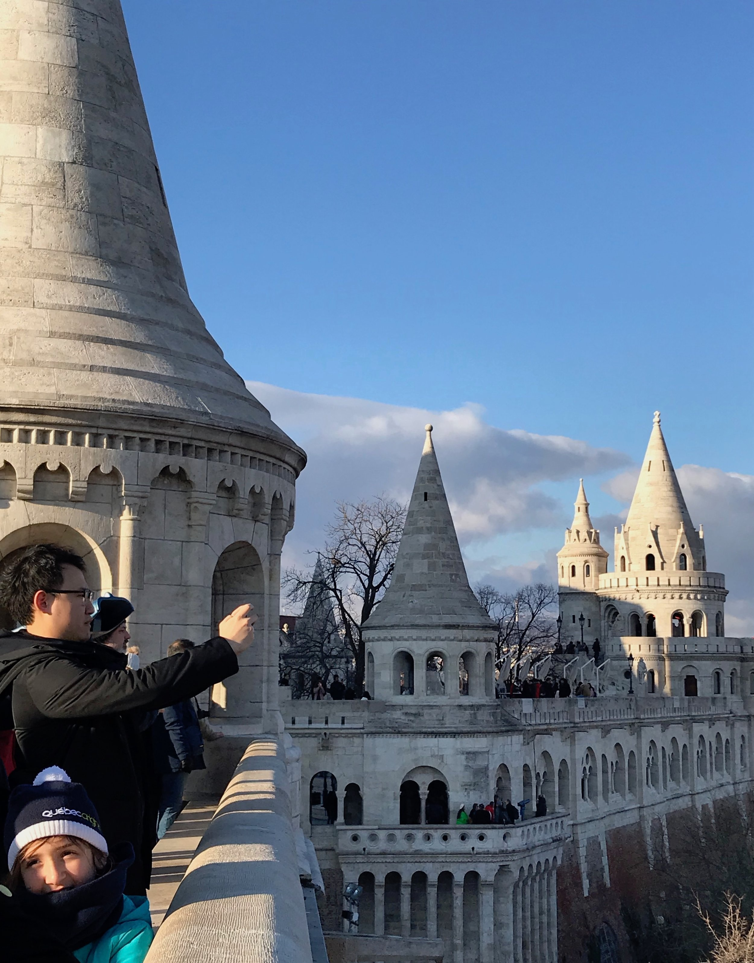 The towers and walkways of Fisherman's Bastion