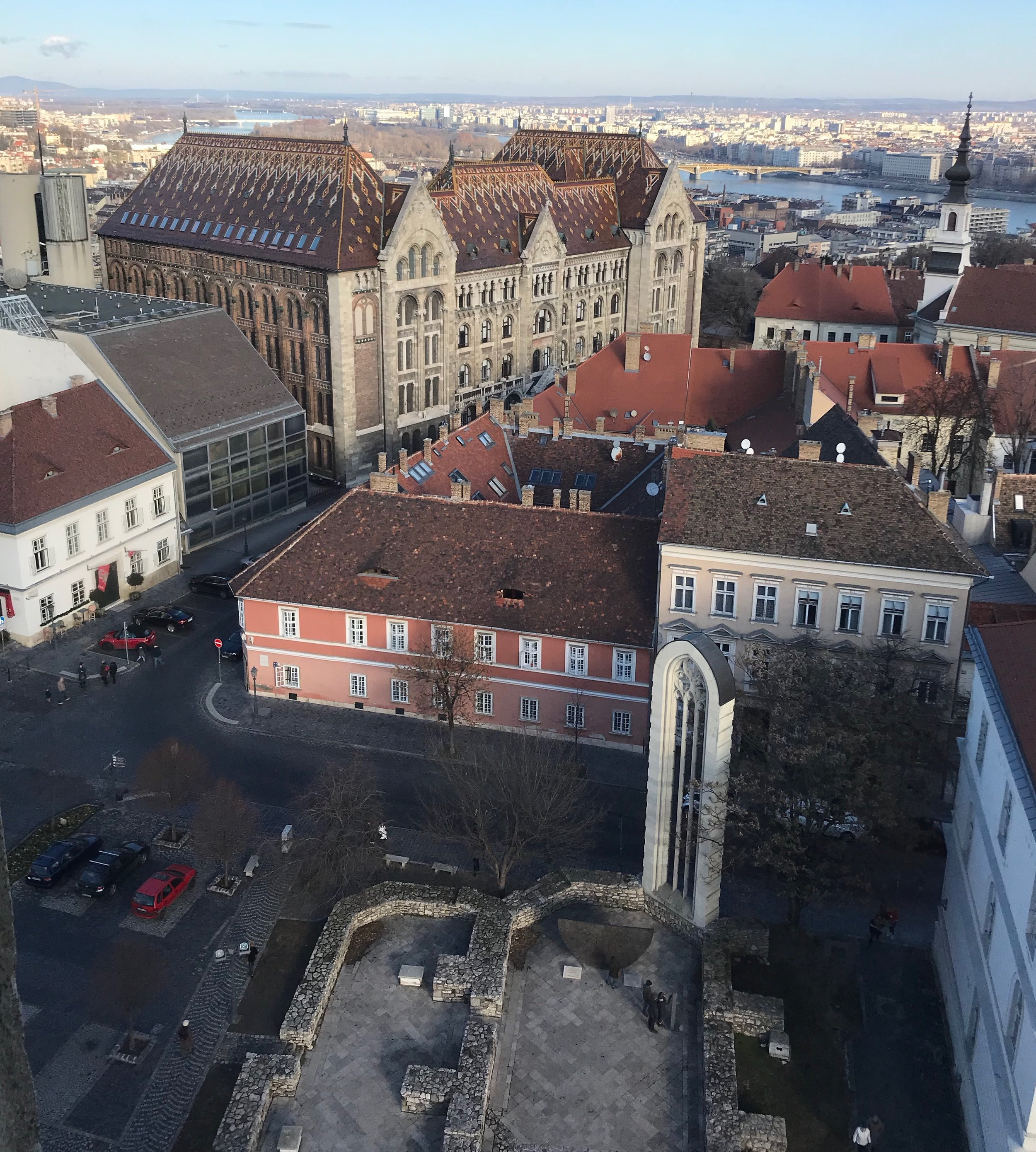 The view from the top of the Magdalena Tower