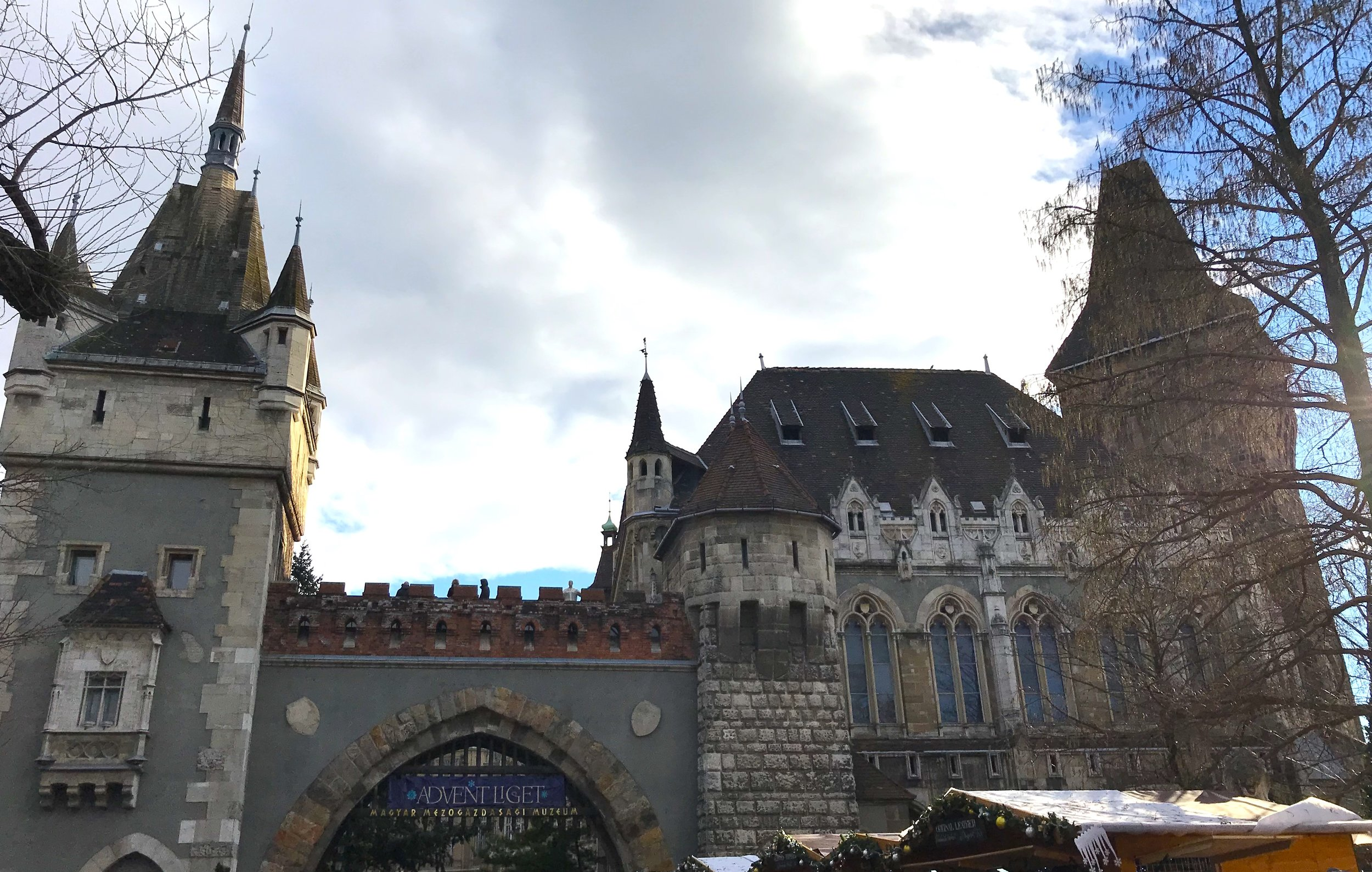 Disney-like Vajdahunyad Castle