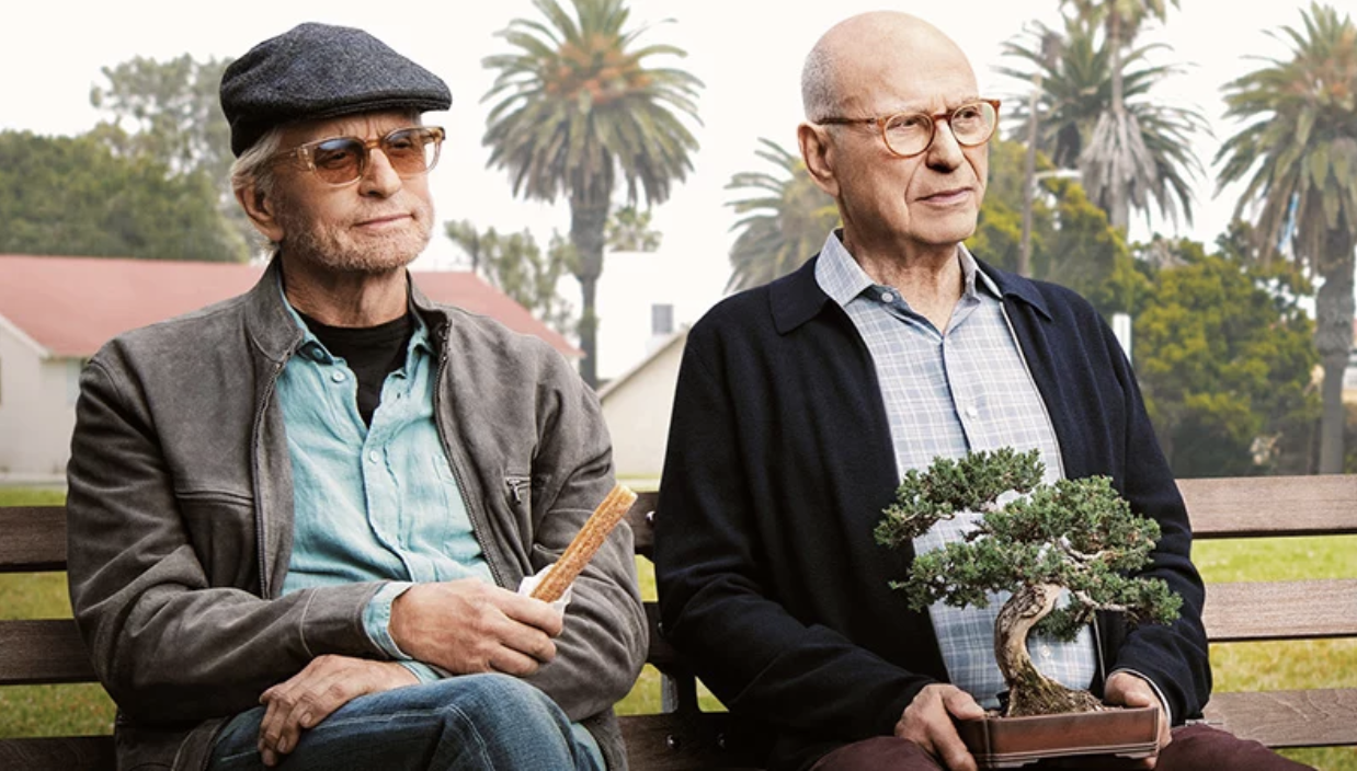 Michael Douglas as Sandy Kopinsky and Alan Arkin as Norman Newlander