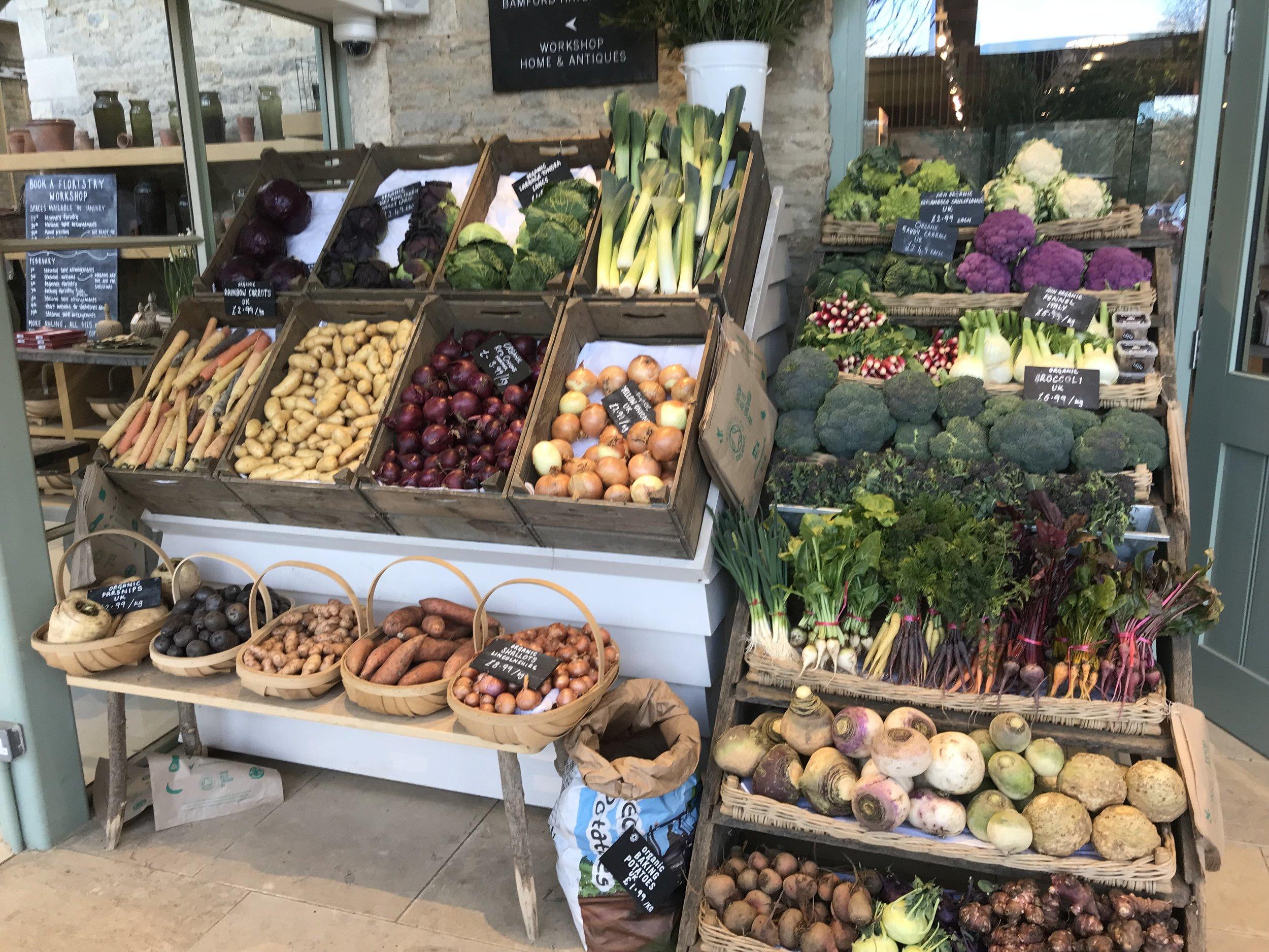 Fresh veg? Don't mind if I do.
