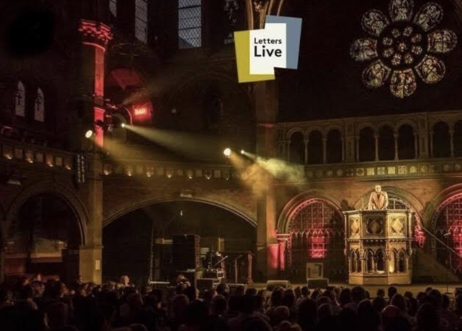 Letters Live at the Union Chapel. A beautiful setting for a memorable evening