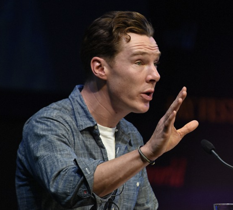 Like all the readers, Benedict Cumberbatch didn't so much read the letters as perform them