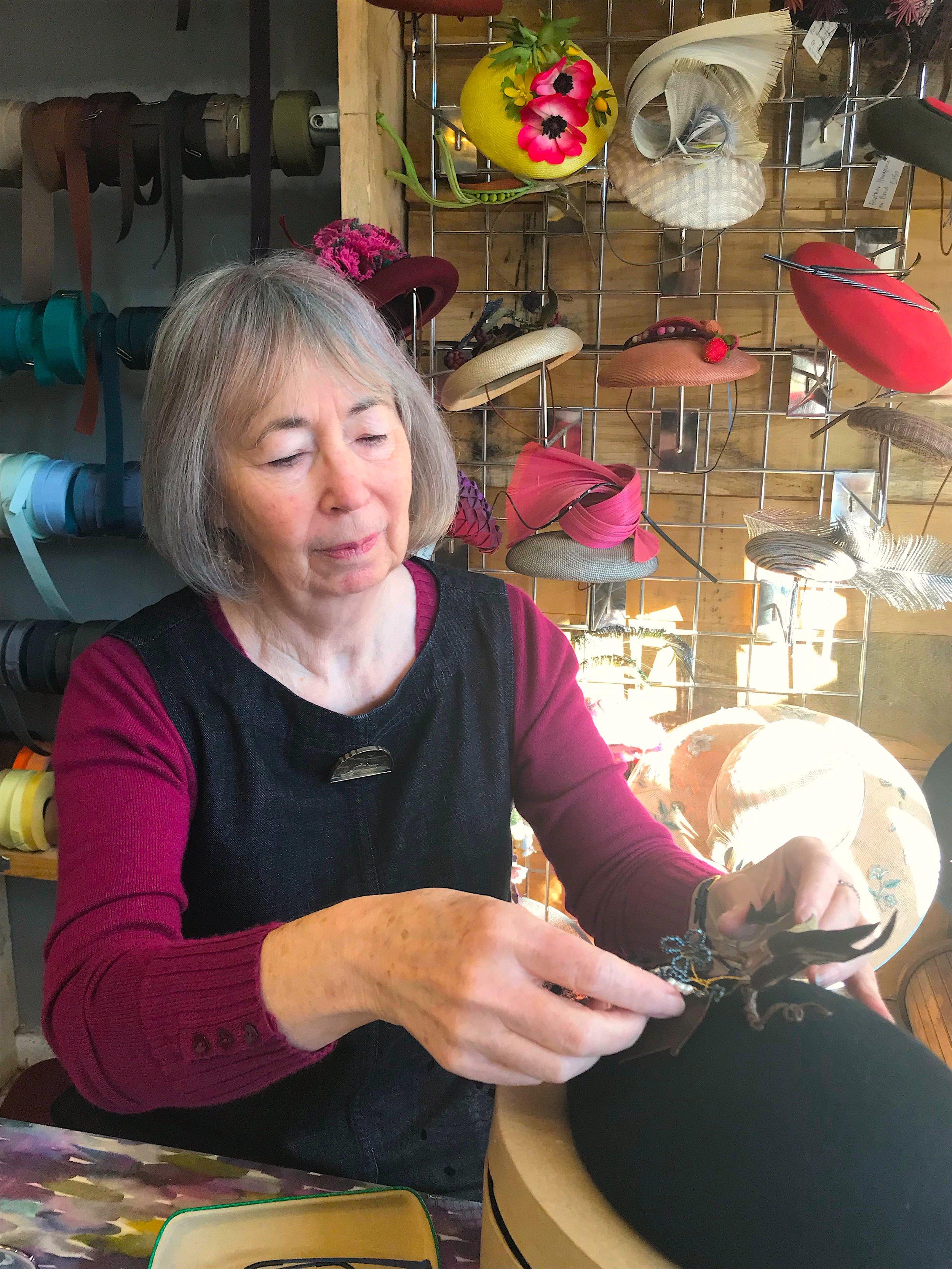 Lynn especially enjoys working with felt