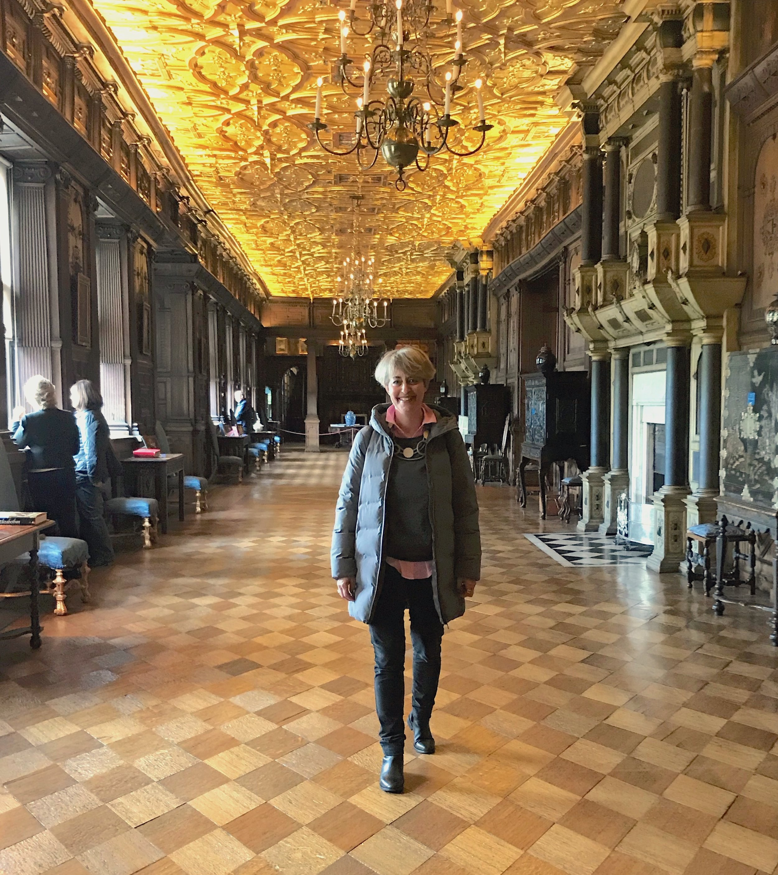 The Long Gallery, where 21st century women can walk in the footsteps of their Jacobean ancestors