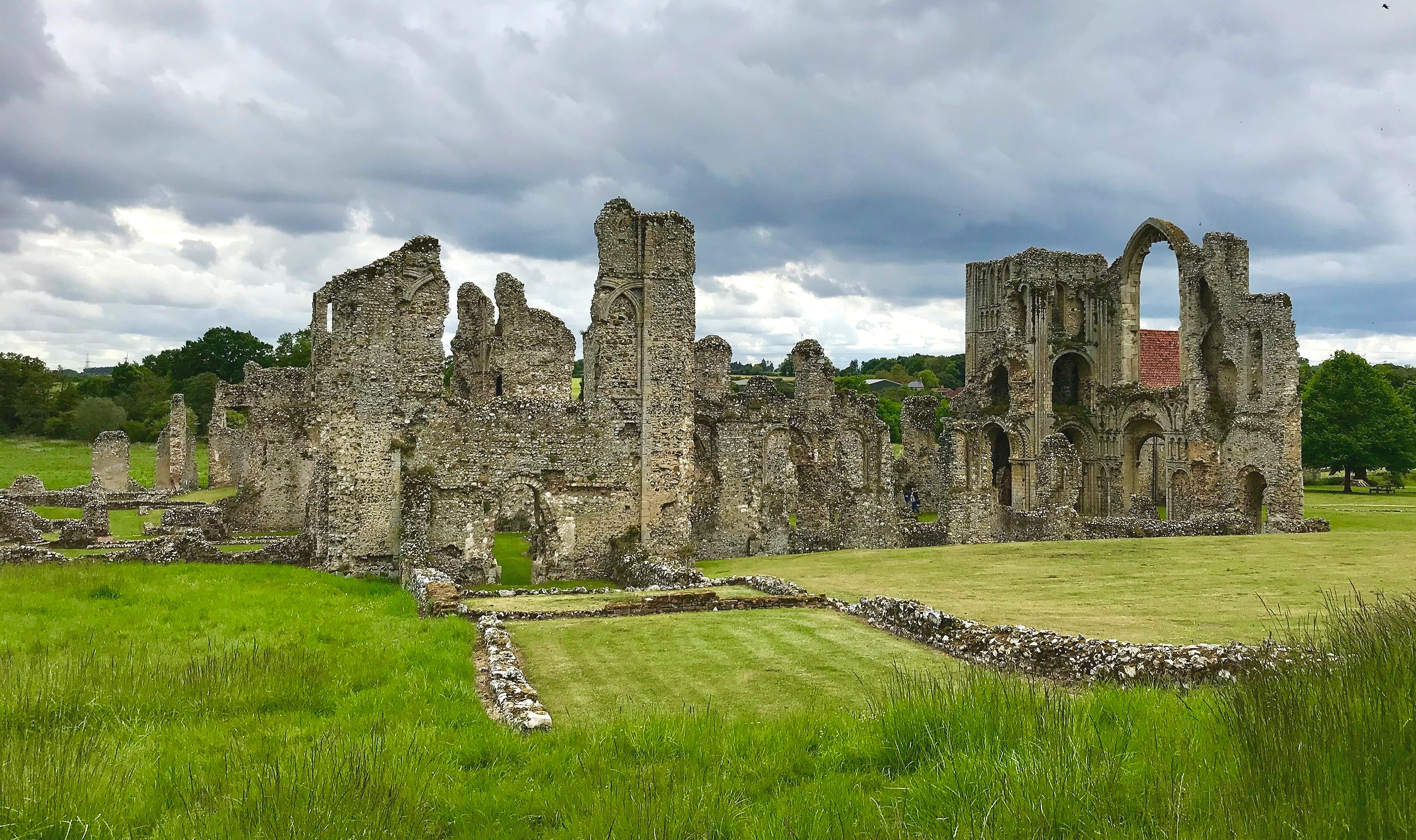 The astonishing ruins of Castle Acre Priory give you a real sense of what living there must have been like for the Cluniac monks
