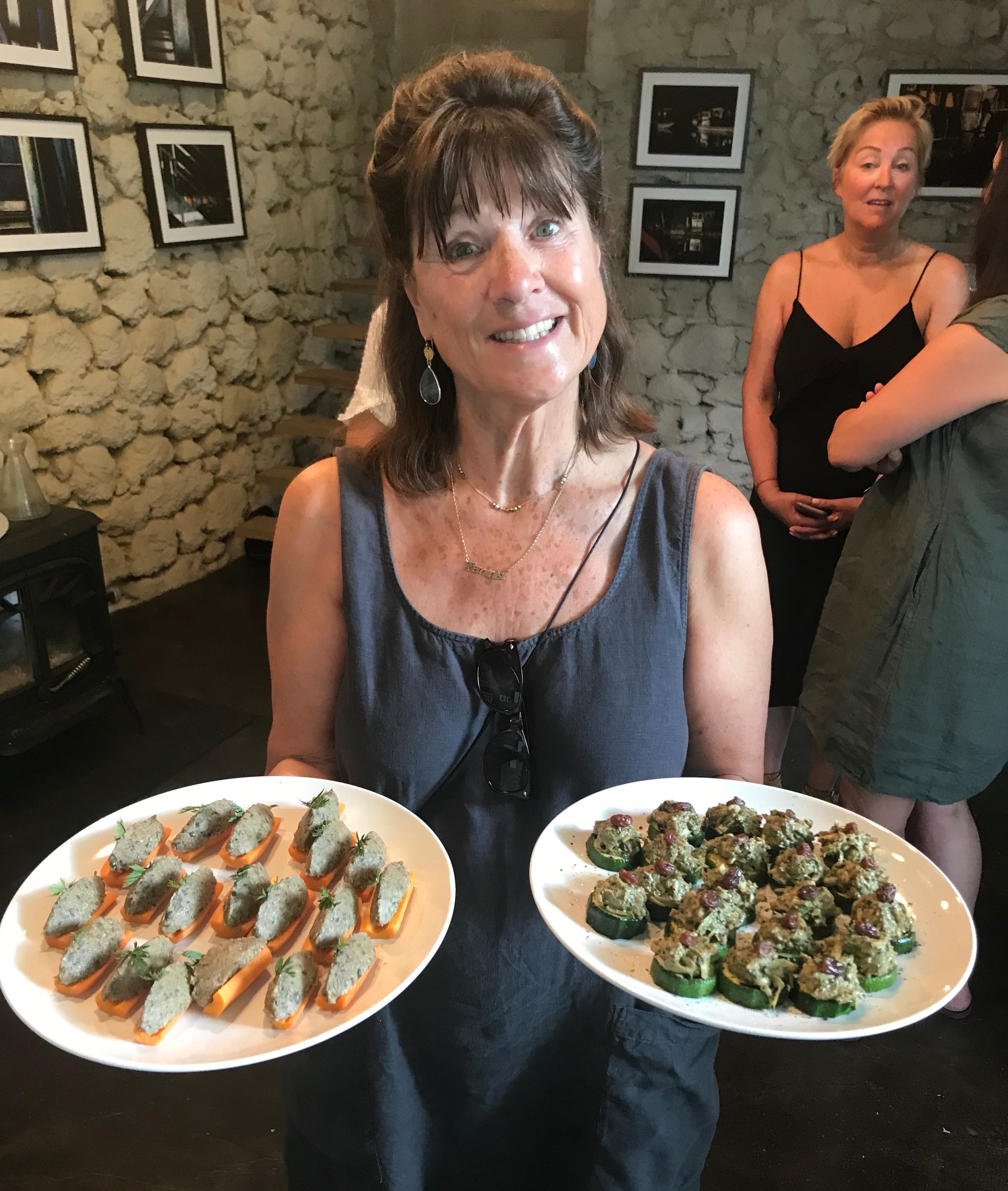 Yvonne recommends plenty of plant-based food in your diet. But you need to eat lots of other things too