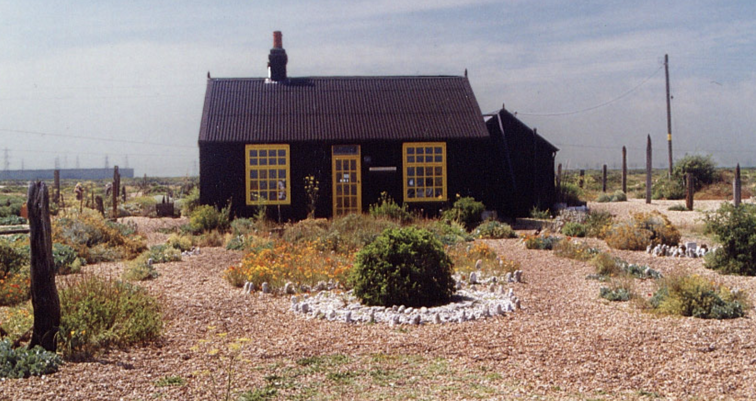 The late Derek Jarmon's distinctive home in Dungeness