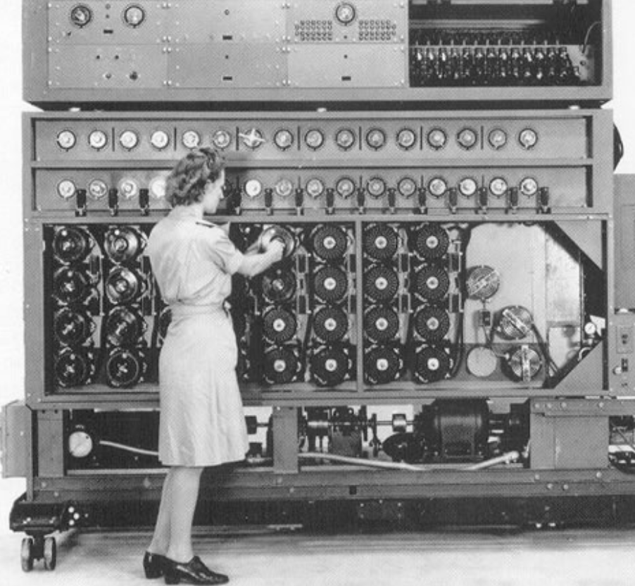 The Bombe machines that Ruth and her colleagues operated were huge and highly complex